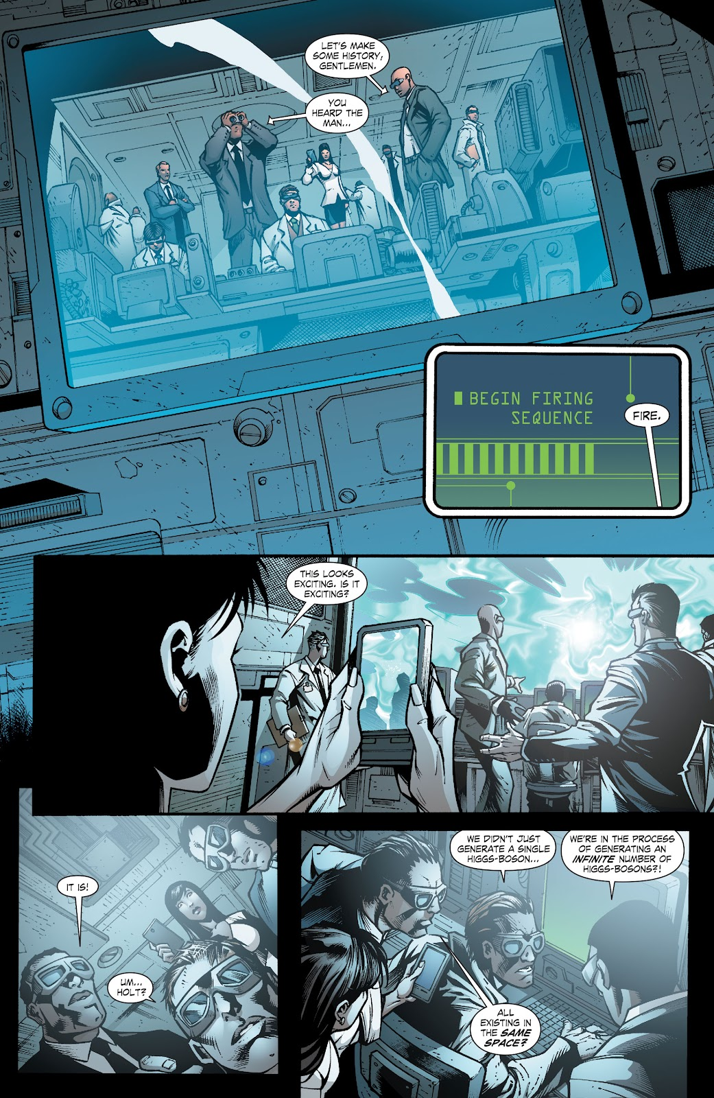 Read online Smallville Season 11 [II] comic -  Issue # TPB 8 - 55