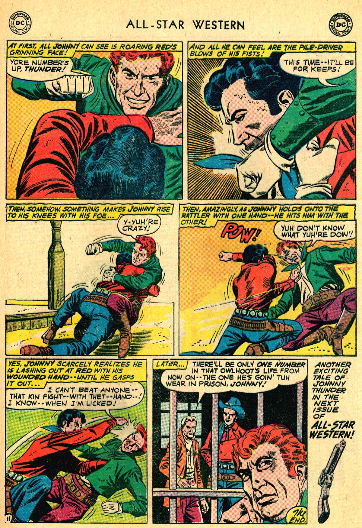 Read online All-Star Western (1951) comic -  Issue #115 - 13