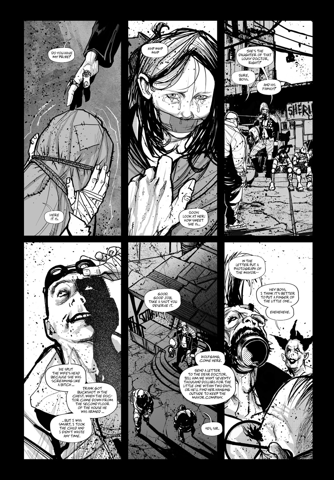 Read online Wrath of God comic -  Issue # _TPB - 83