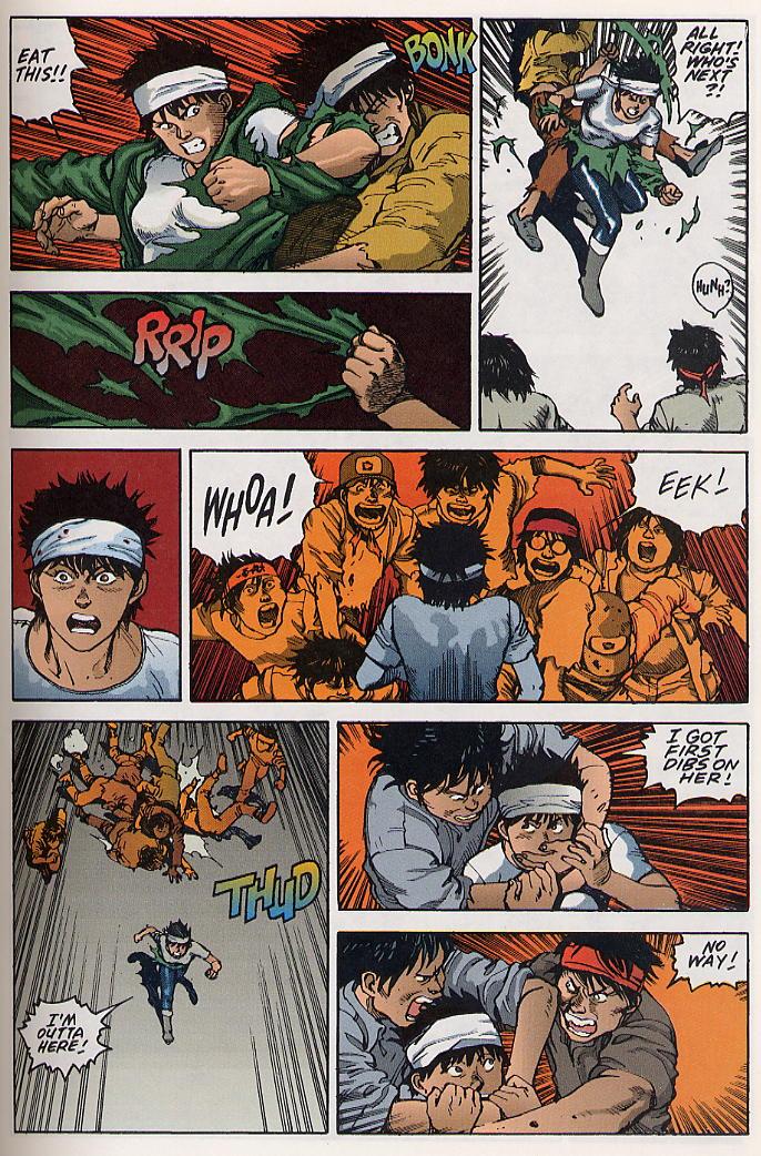 Read online Akira comic -  Issue #19 - 36