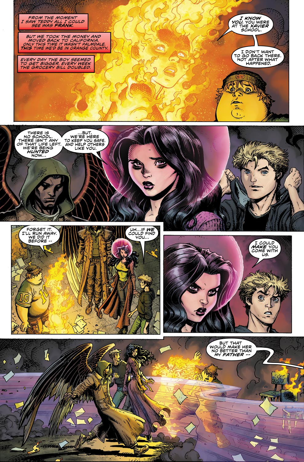 Read online Ultimate X comic -  Issue #4 - 22