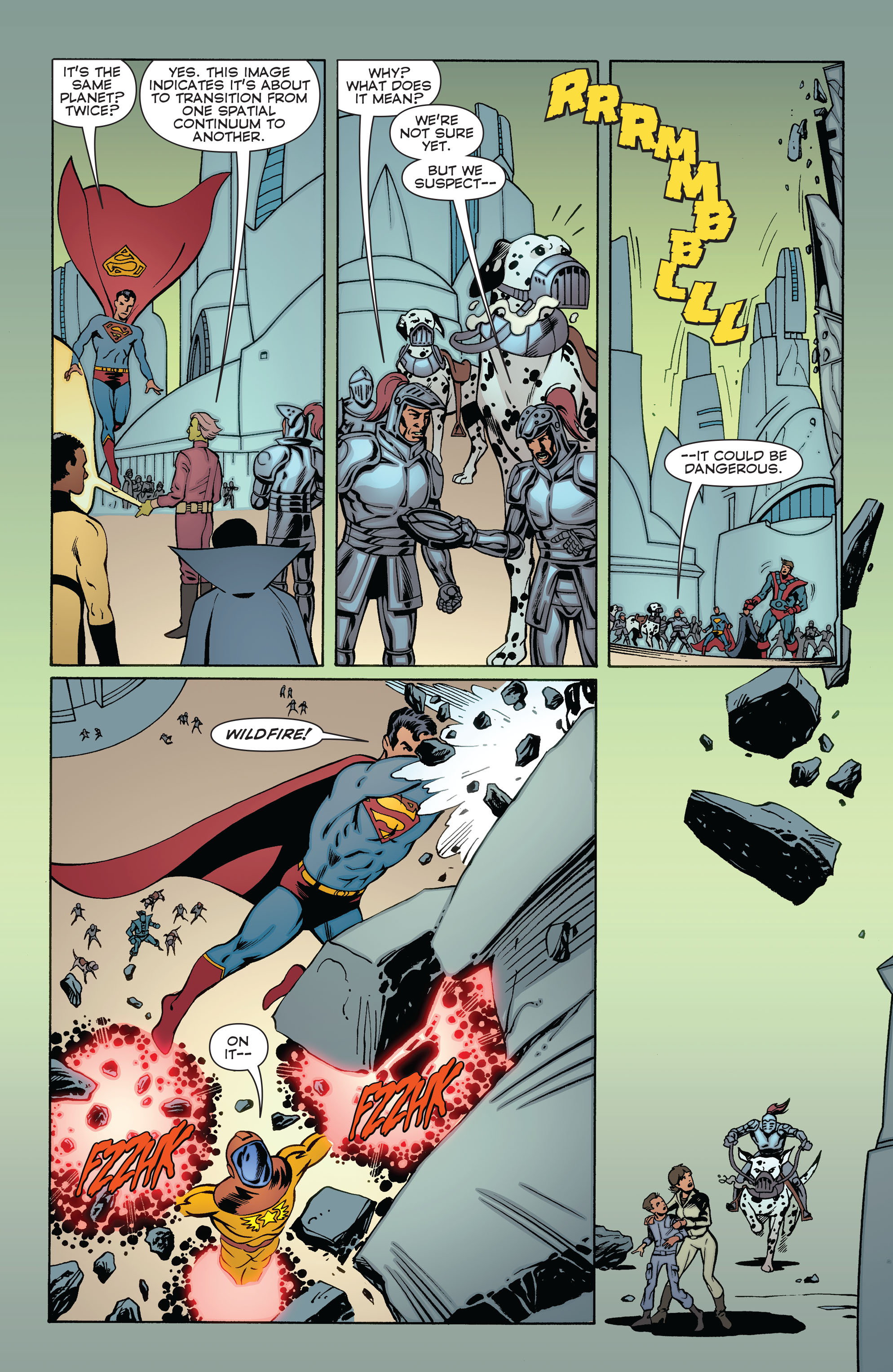 Read online Convergence Superboy and the Legion of Super-Heroes comic -  Issue #2 - 19