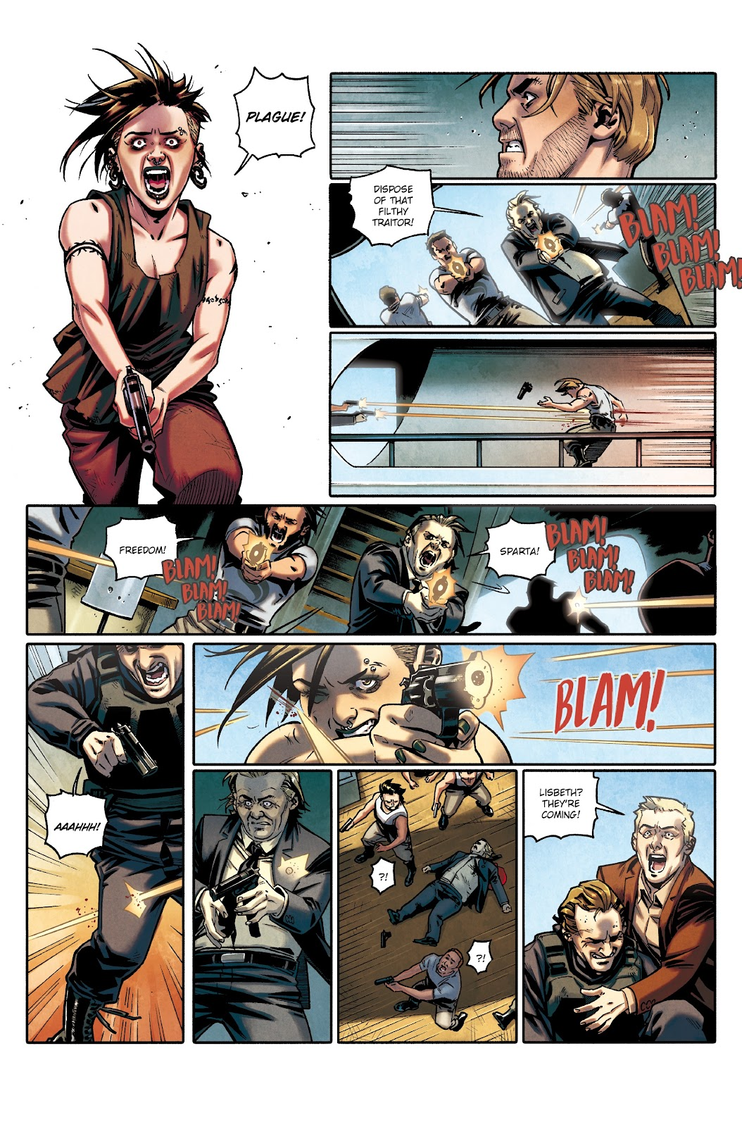 Read online Millennium: The Girl Who Danced With Death comic -  Issue #3 - 56