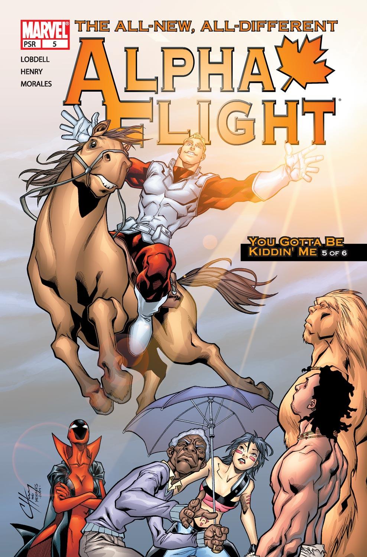 Read online Alpha Flight (2004) comic -  Issue #5 - 1