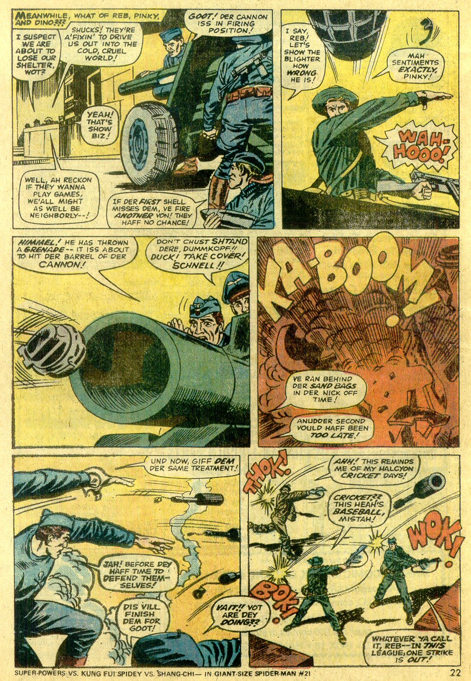 Read online Sgt. Fury comic -  Issue #122 - 24