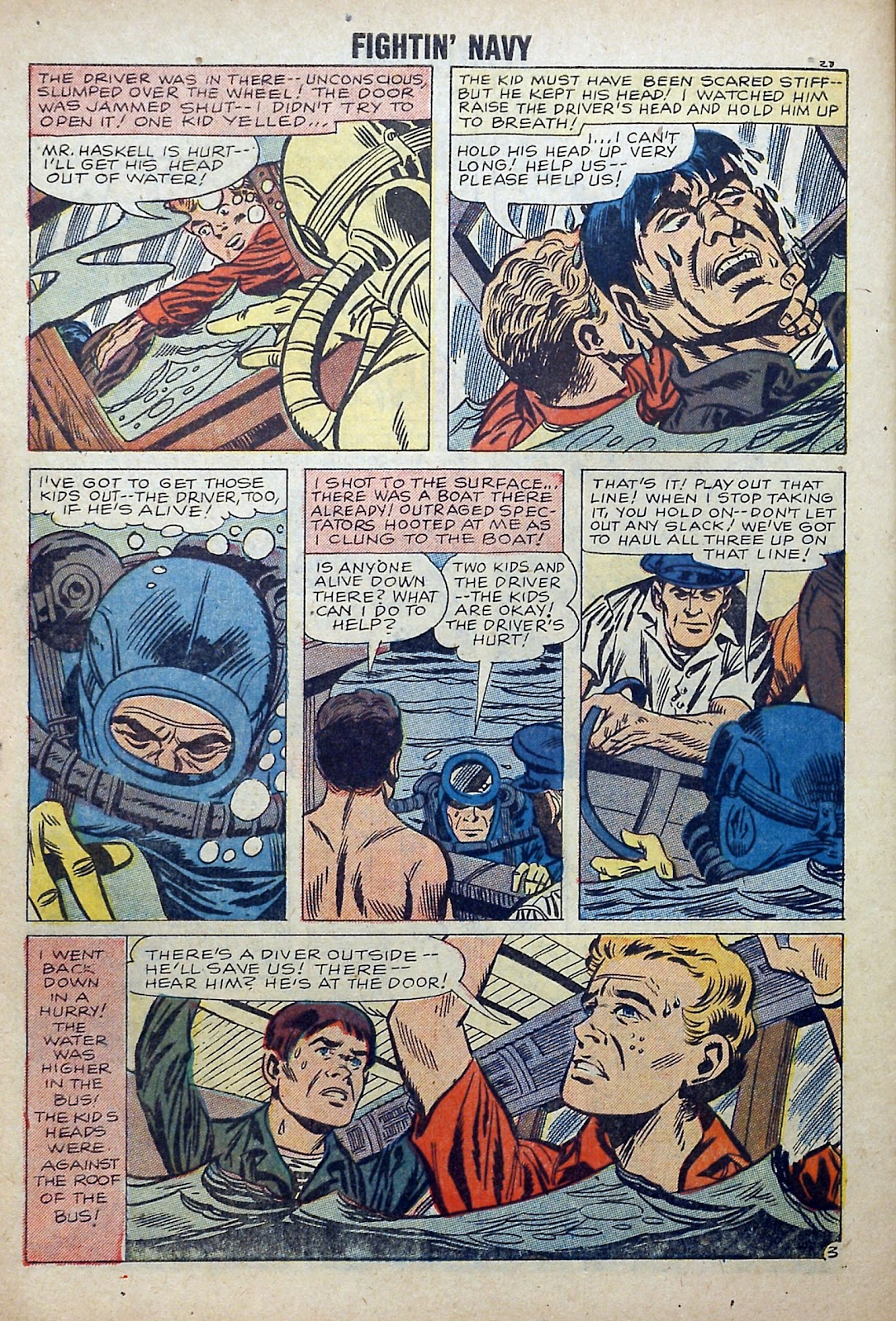Read online Fightin' Navy comic -  Issue #84 - 30