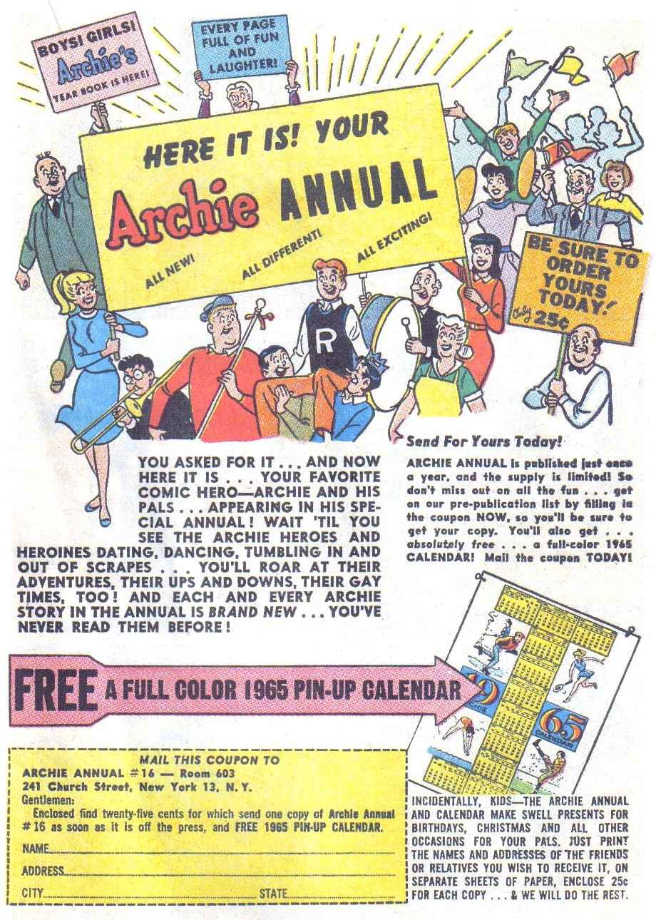 Read online Archie (1960) comic -  Issue #148 - 19
