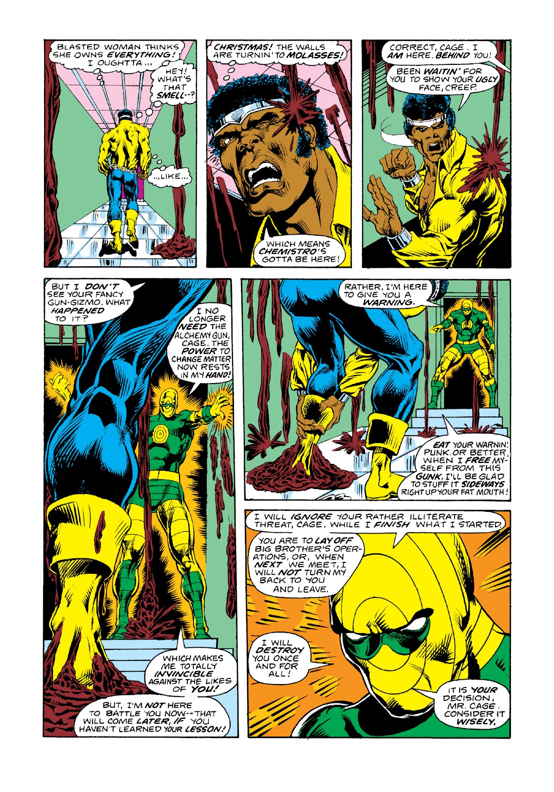 Read online Marvel Masterworks: Luke Cage, Power Man comic -  Issue # TPB 3 (Part 2) - 31