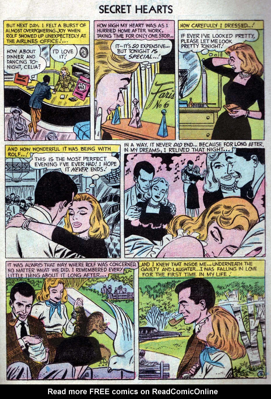 Read online Secret Hearts comic -  Issue #33 - 23