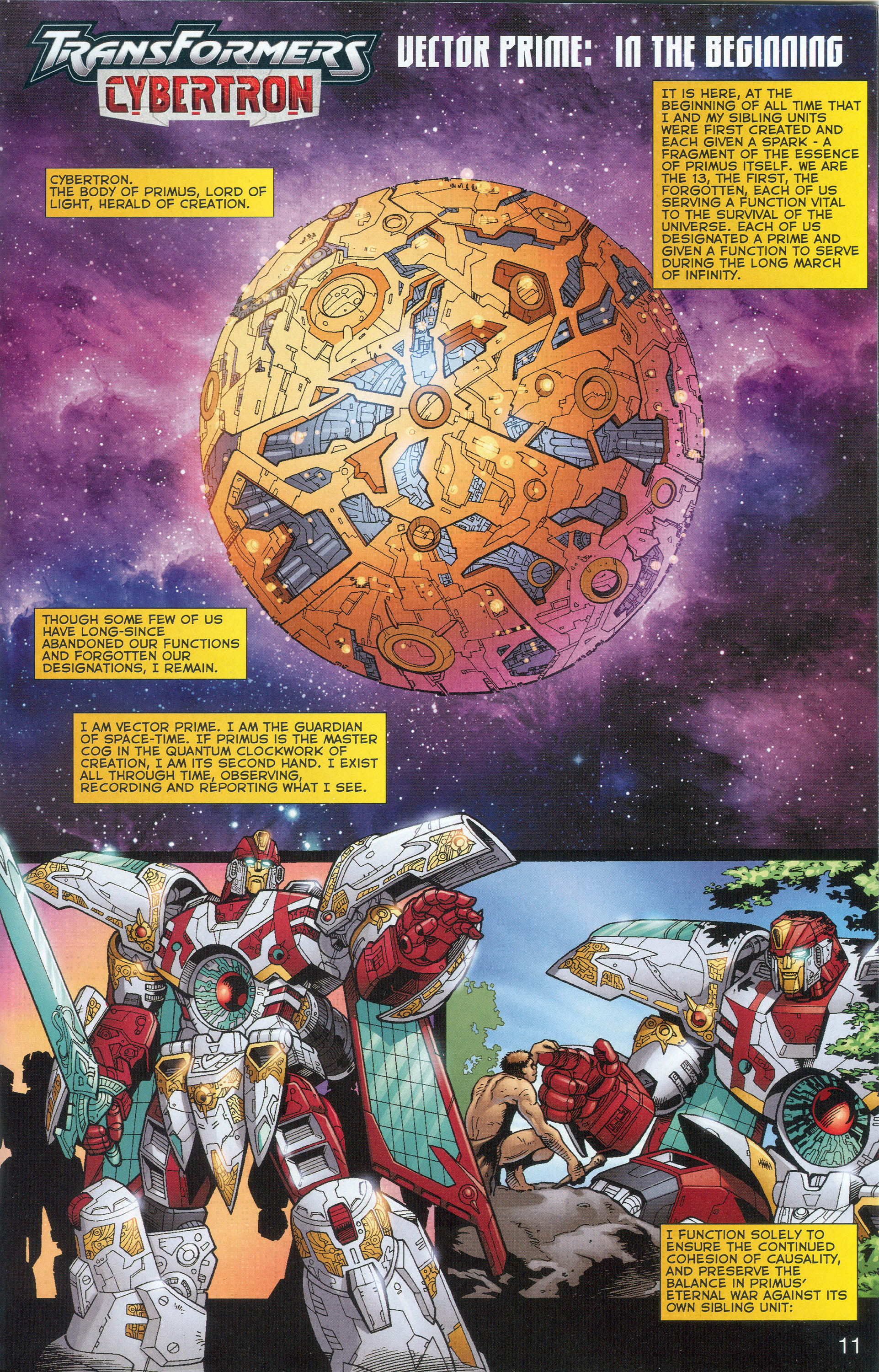 Read online Transformers: Collectors' Club comic -  Issue #1 - 11