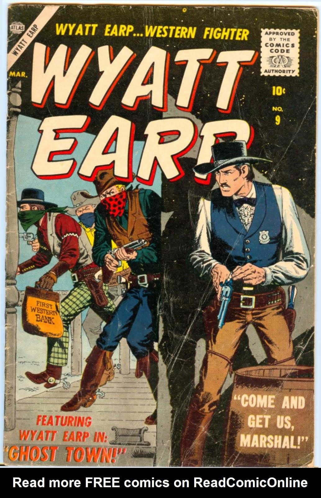 Wyatt Earp issue 9 - Page 1
