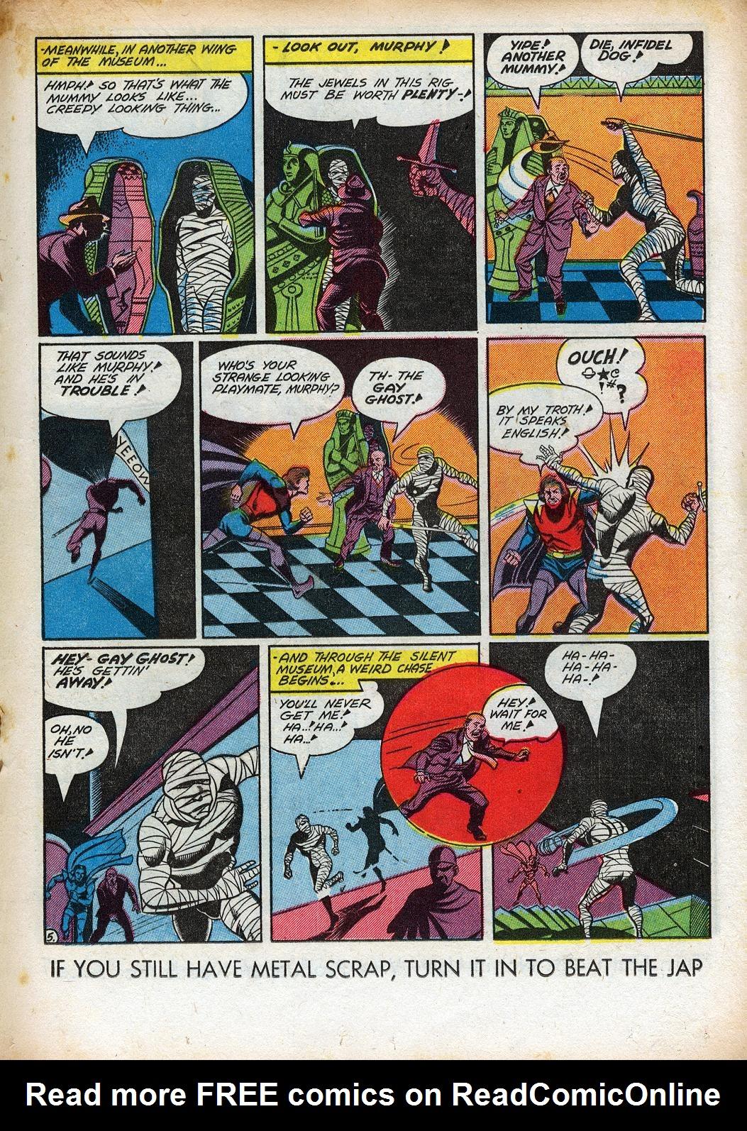 Read online Sensation (Mystery) Comics comic -  Issue #33 - 27