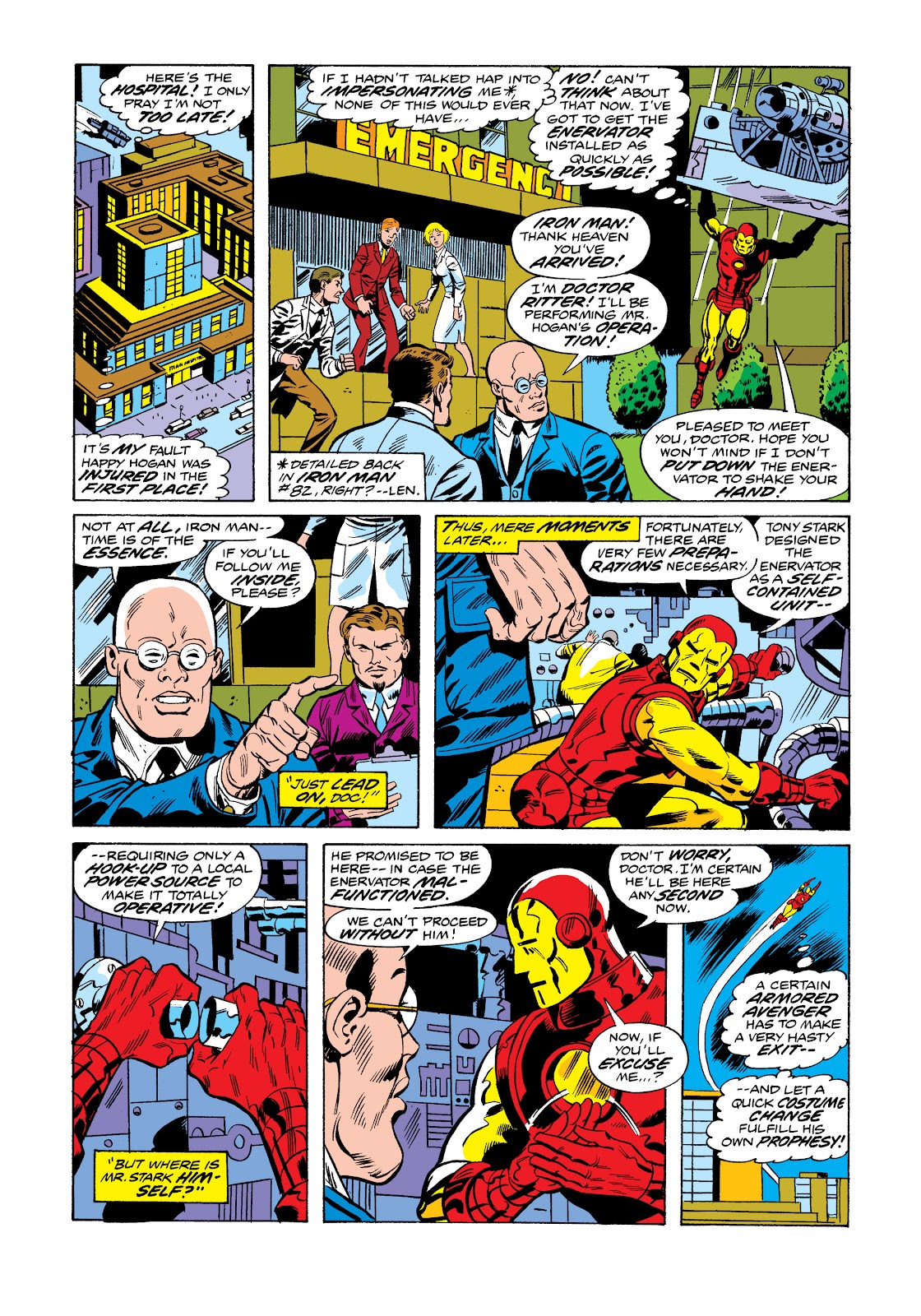 Read online Marvel Masterworks: The Invincible Iron Man comic -  Issue # TPB 11 (Part 1) - 49