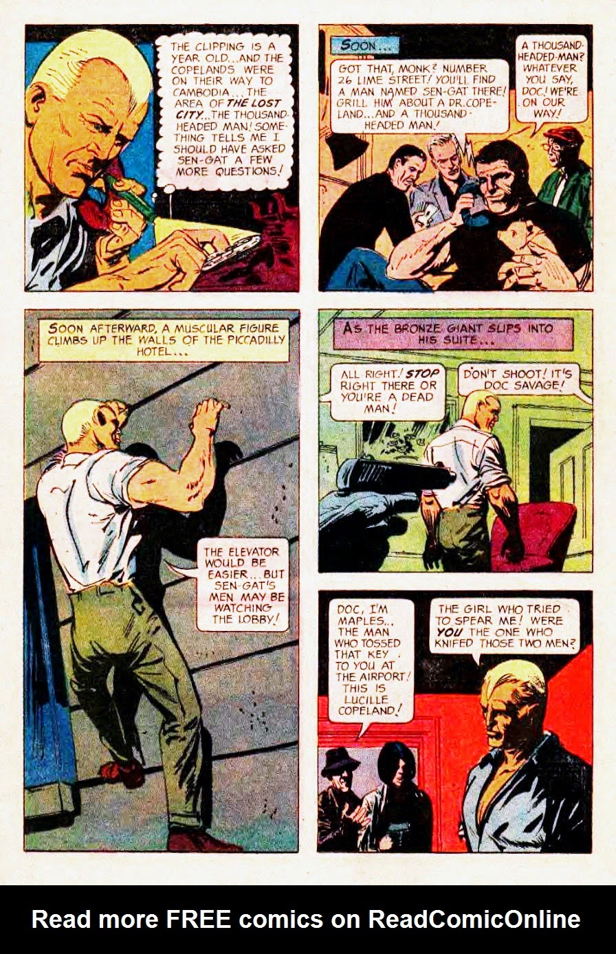 Read online Doc Savage (1966) comic -  Issue # Full - 13