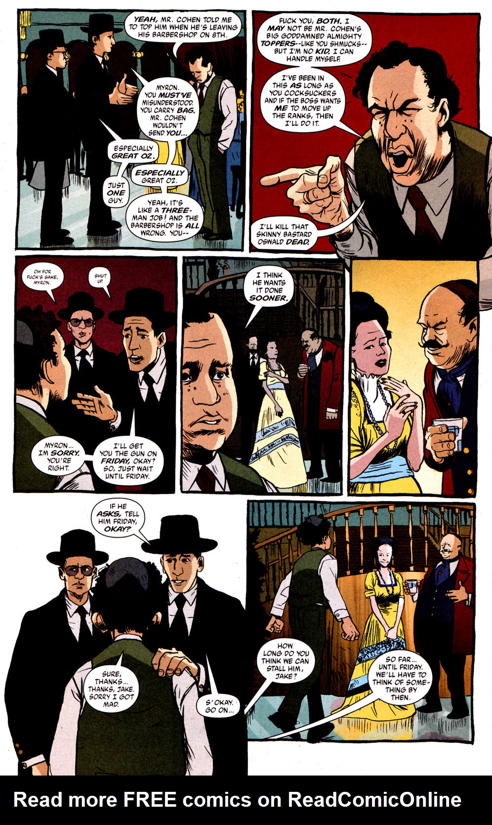 Read online Caper comic -  Issue #1 - 16