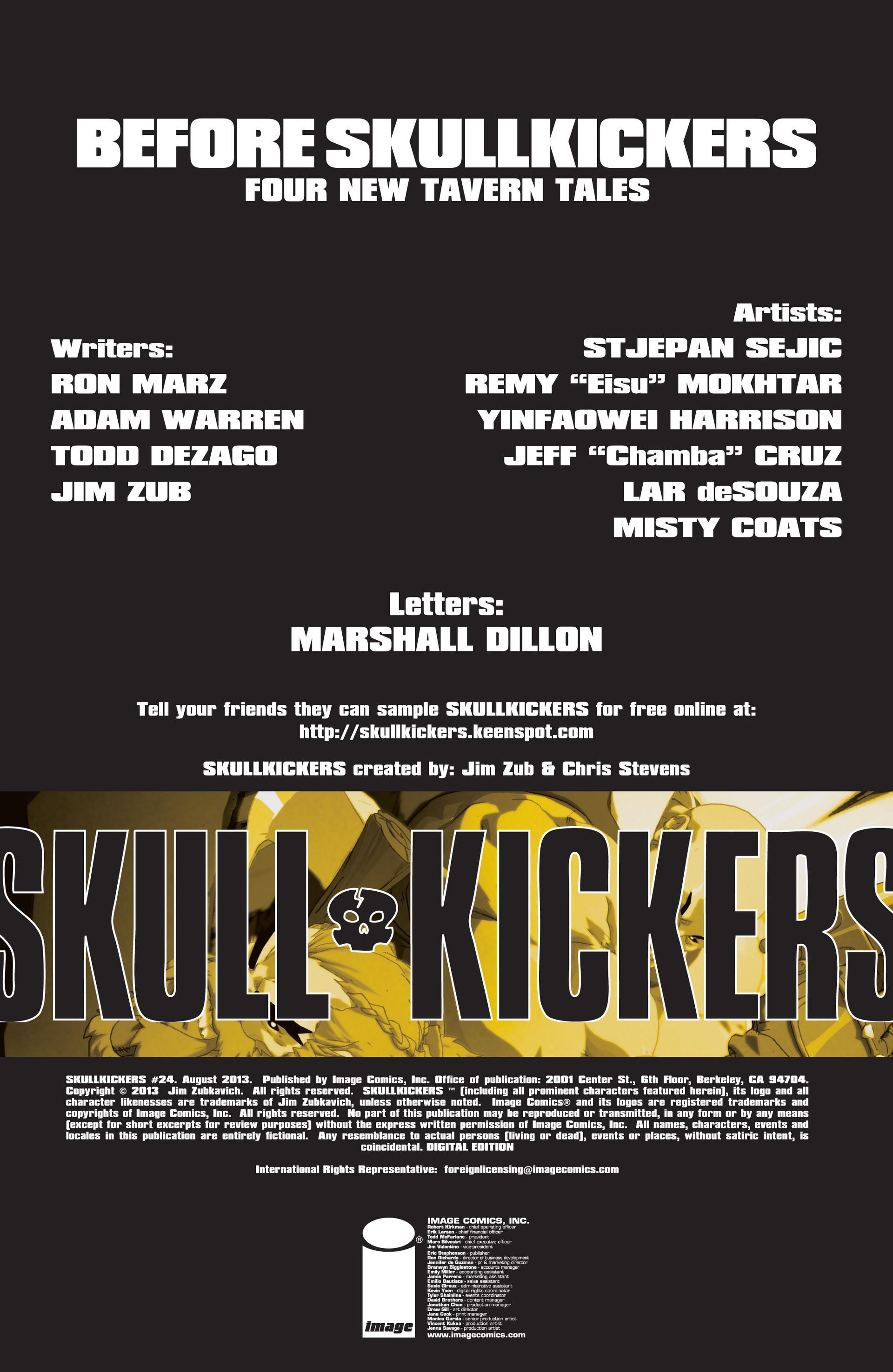 Read online Skullkickers comic -  Issue #24 - 2