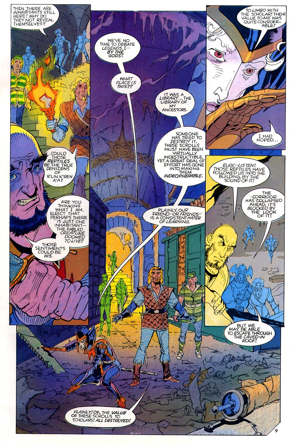 Read online Elric: Sailor on the Seas of Fate comic -  Issue #7 - 10
