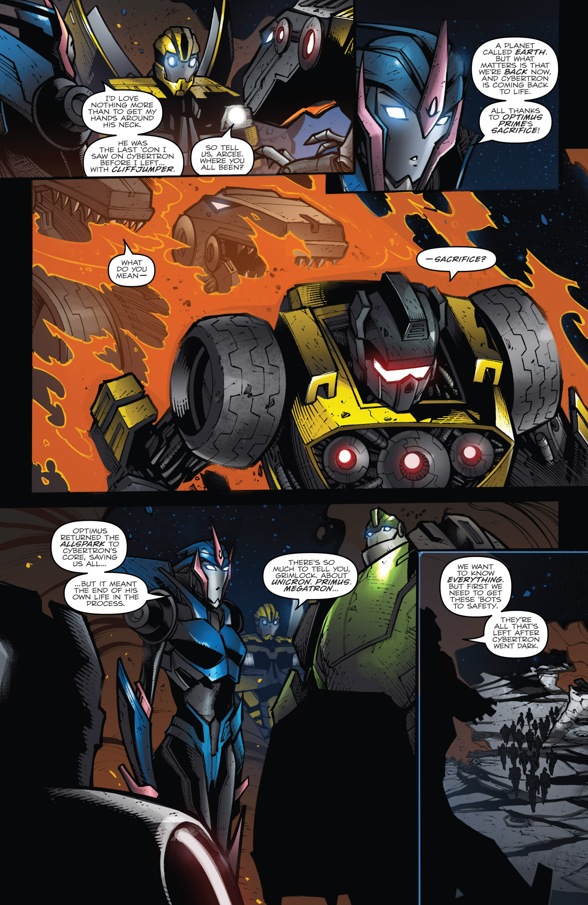 Read online Transformers Prime: Beast Hunters comic -  Issue #8 - 7