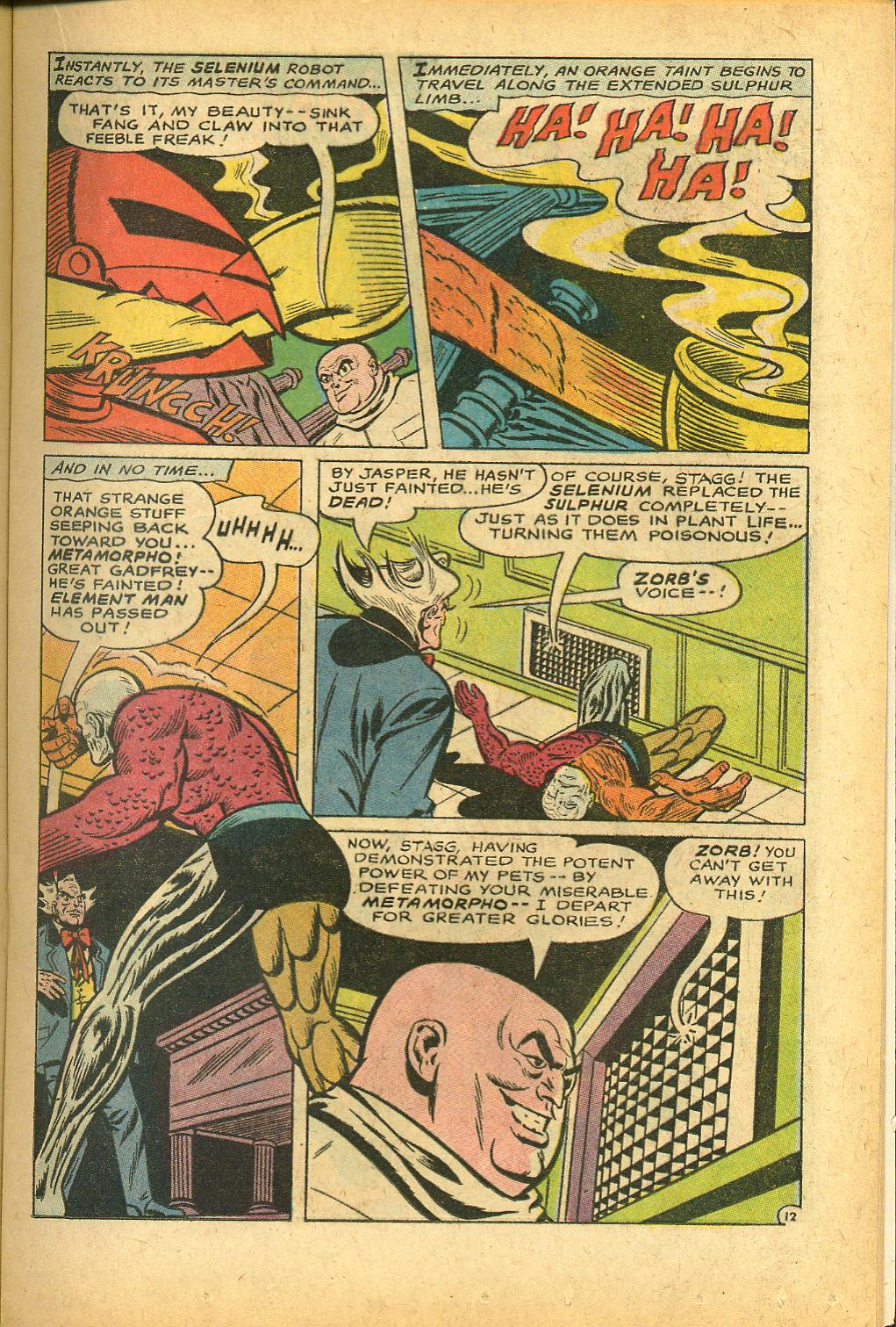 Metamorpho (1965) issue 12 - Page 17
