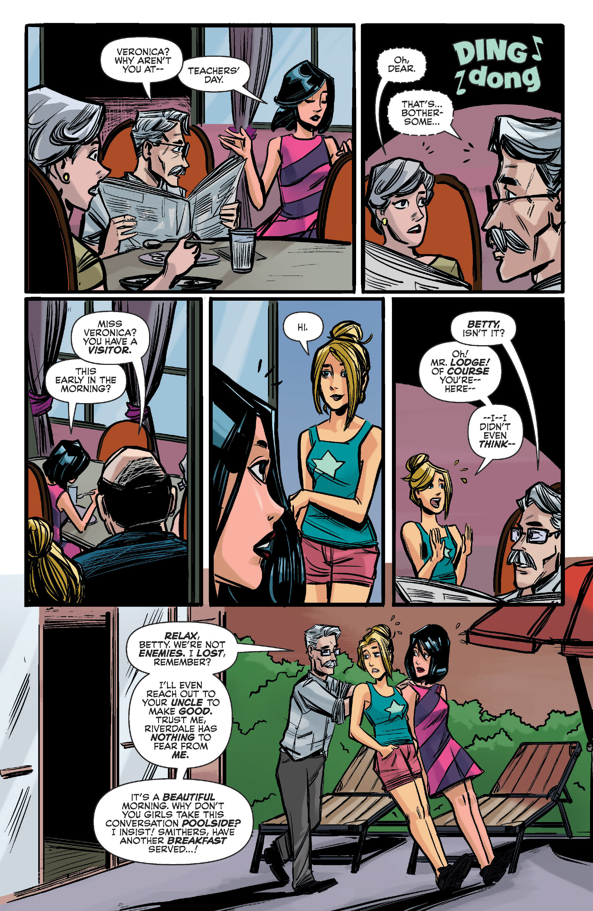Read online Archie (2015) comic -  Issue #12 - 12