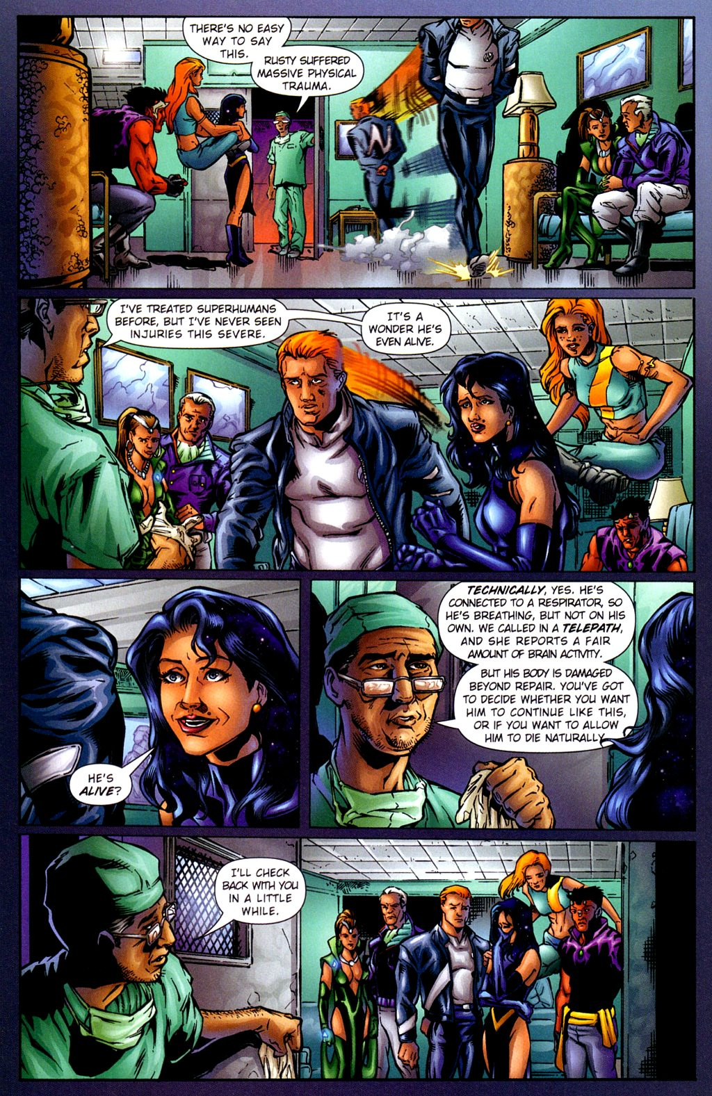 Read online Noble Causes (2002) comic -  Issue #2 - 23