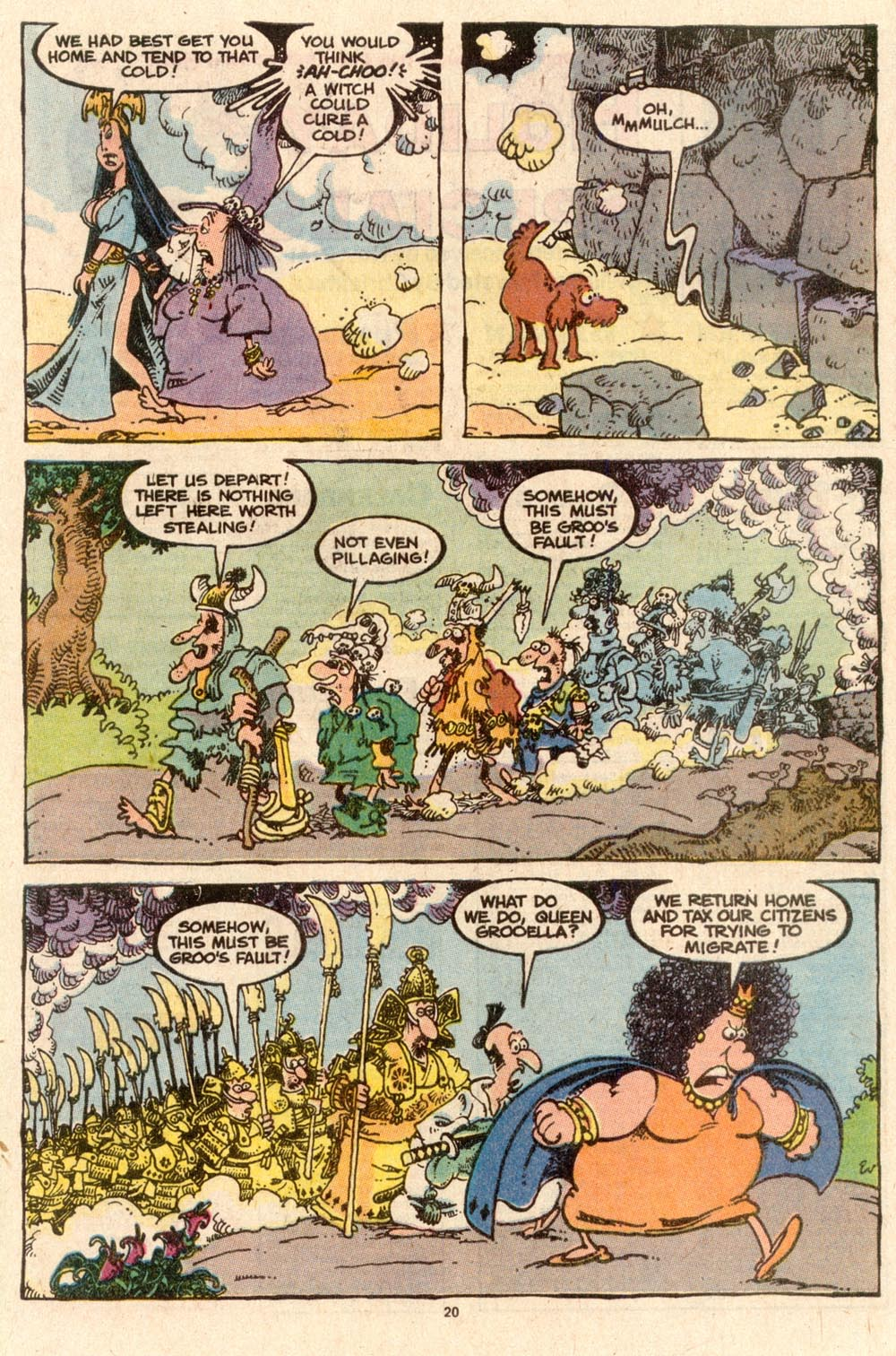 Read online Sergio Aragonés Groo the Wanderer comic -  Issue #59 - 20