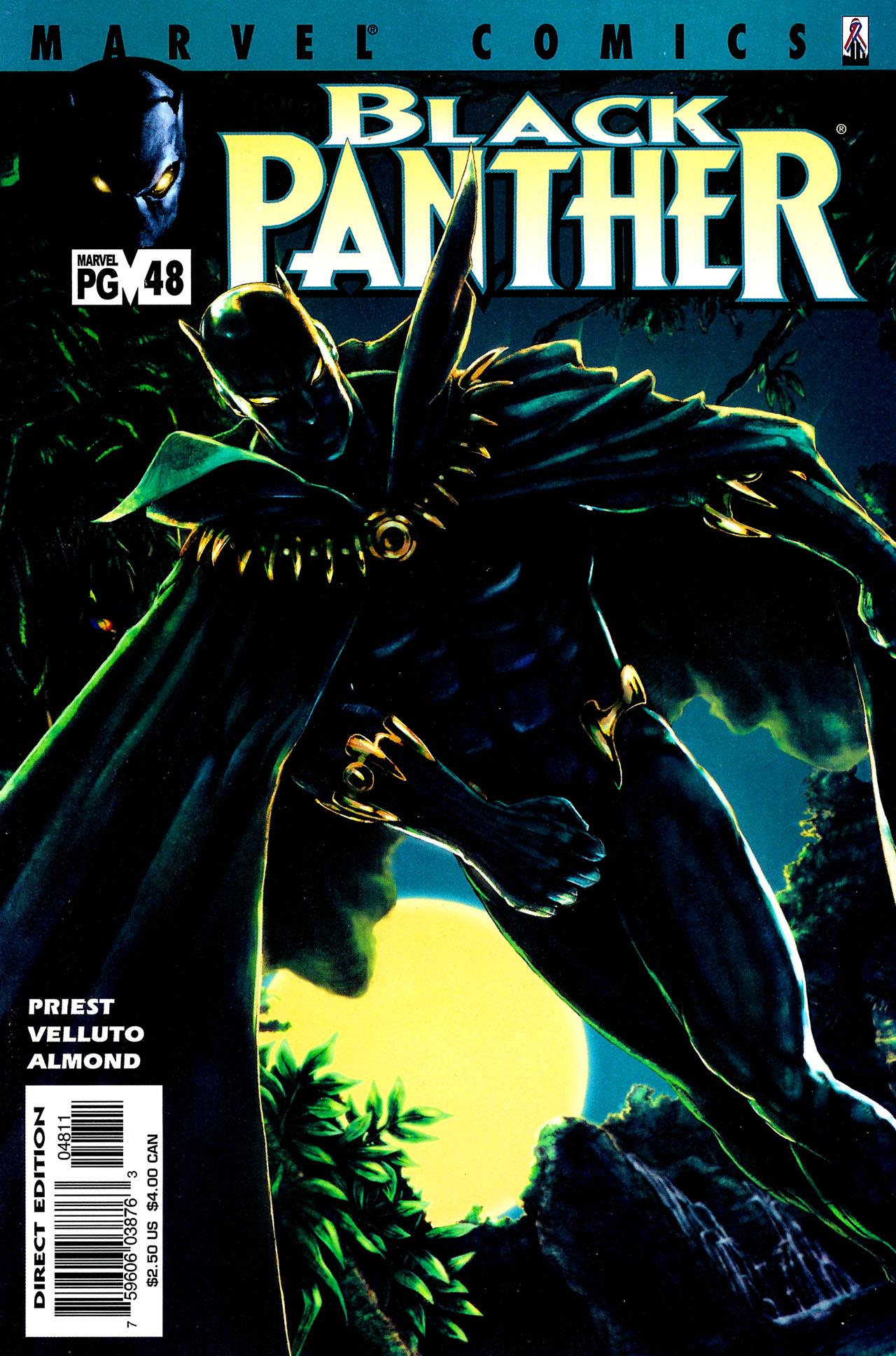 Black Panther (1998) 48 Page 1
