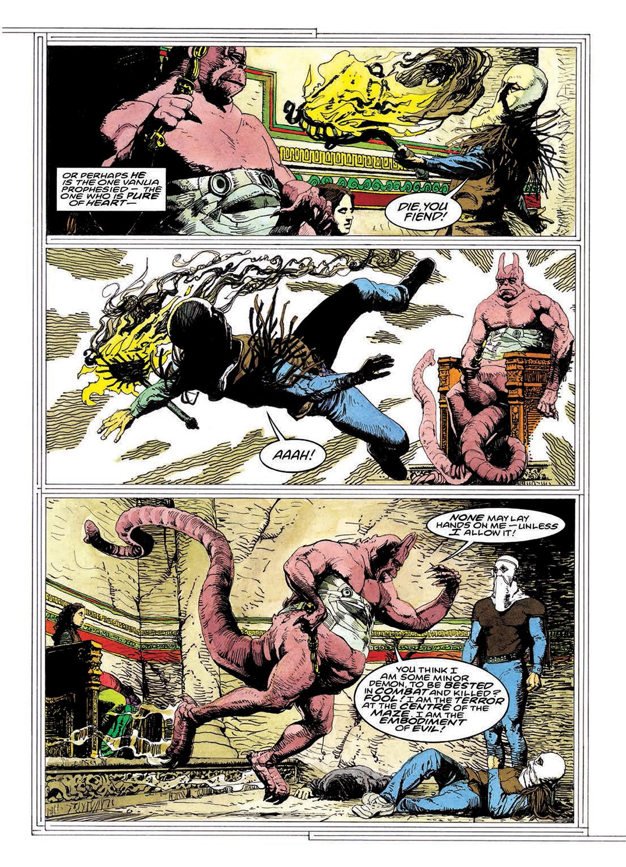Read online Mazeworld comic -  Issue # TPB - 177