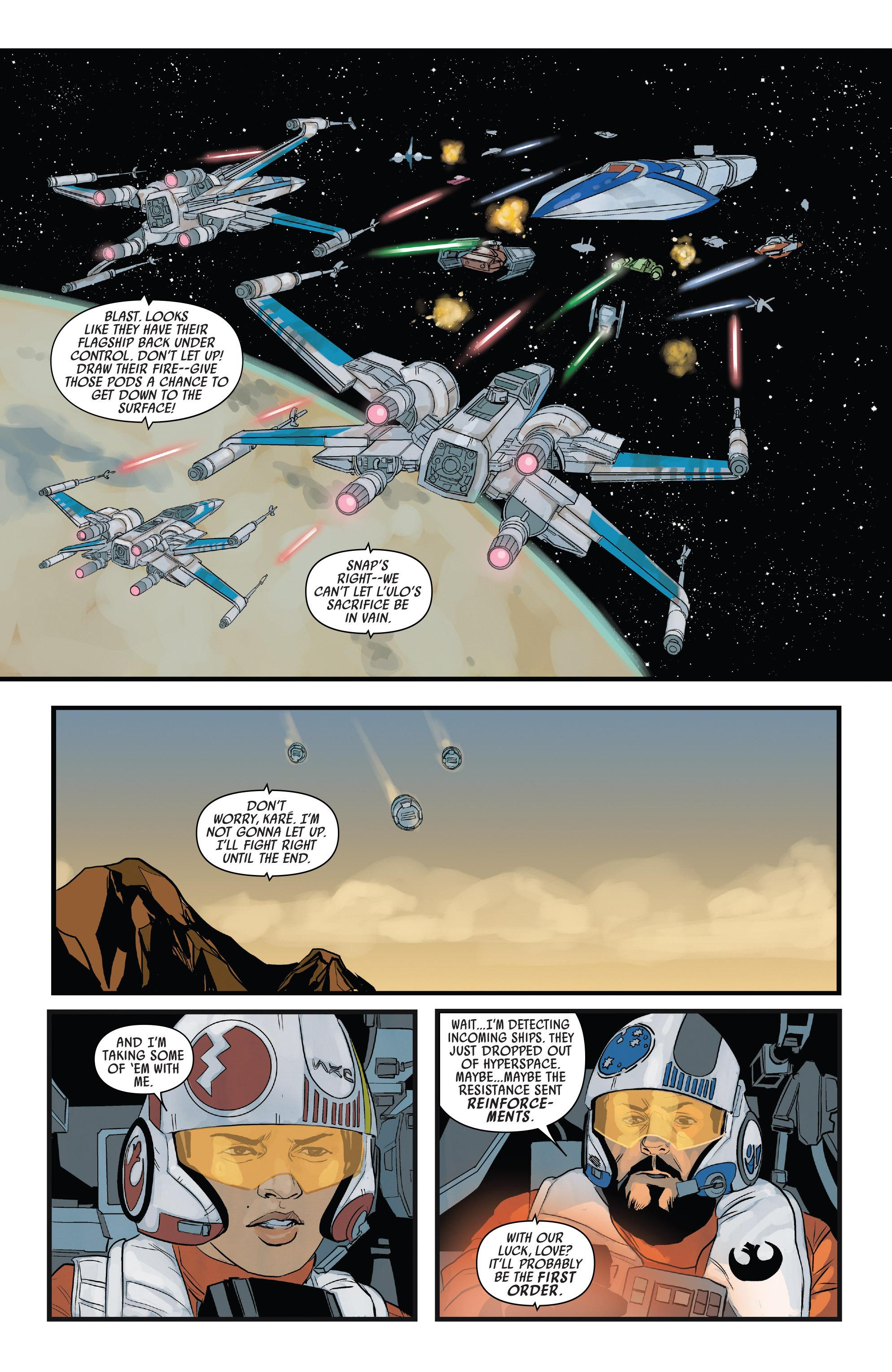 Read online Star Wars: Poe Dameron comic -  Issue #13 - 17