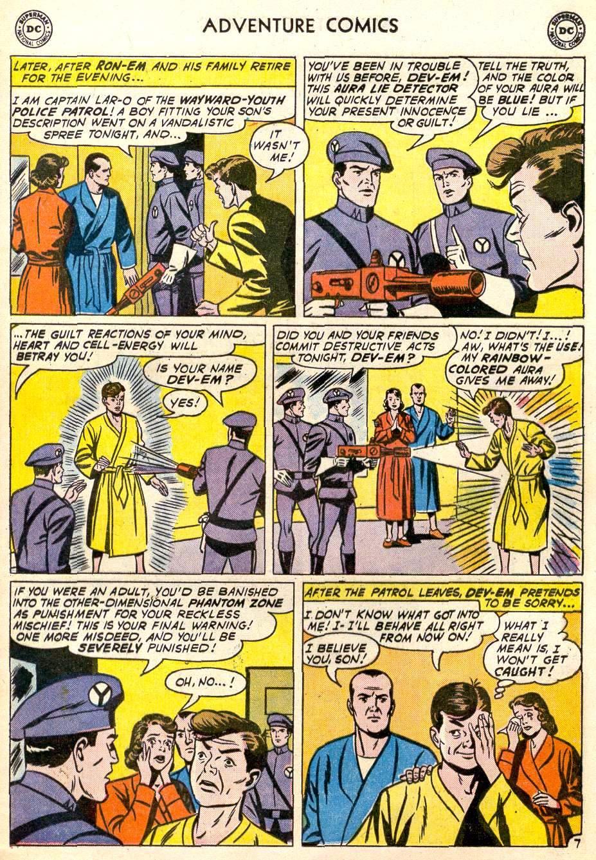 Read online Adventure Comics (1938) comic -  Issue #287 - 9