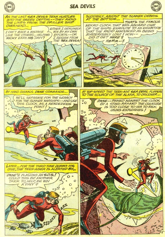 Read online Sea Devils comic -  Issue #12 - 20