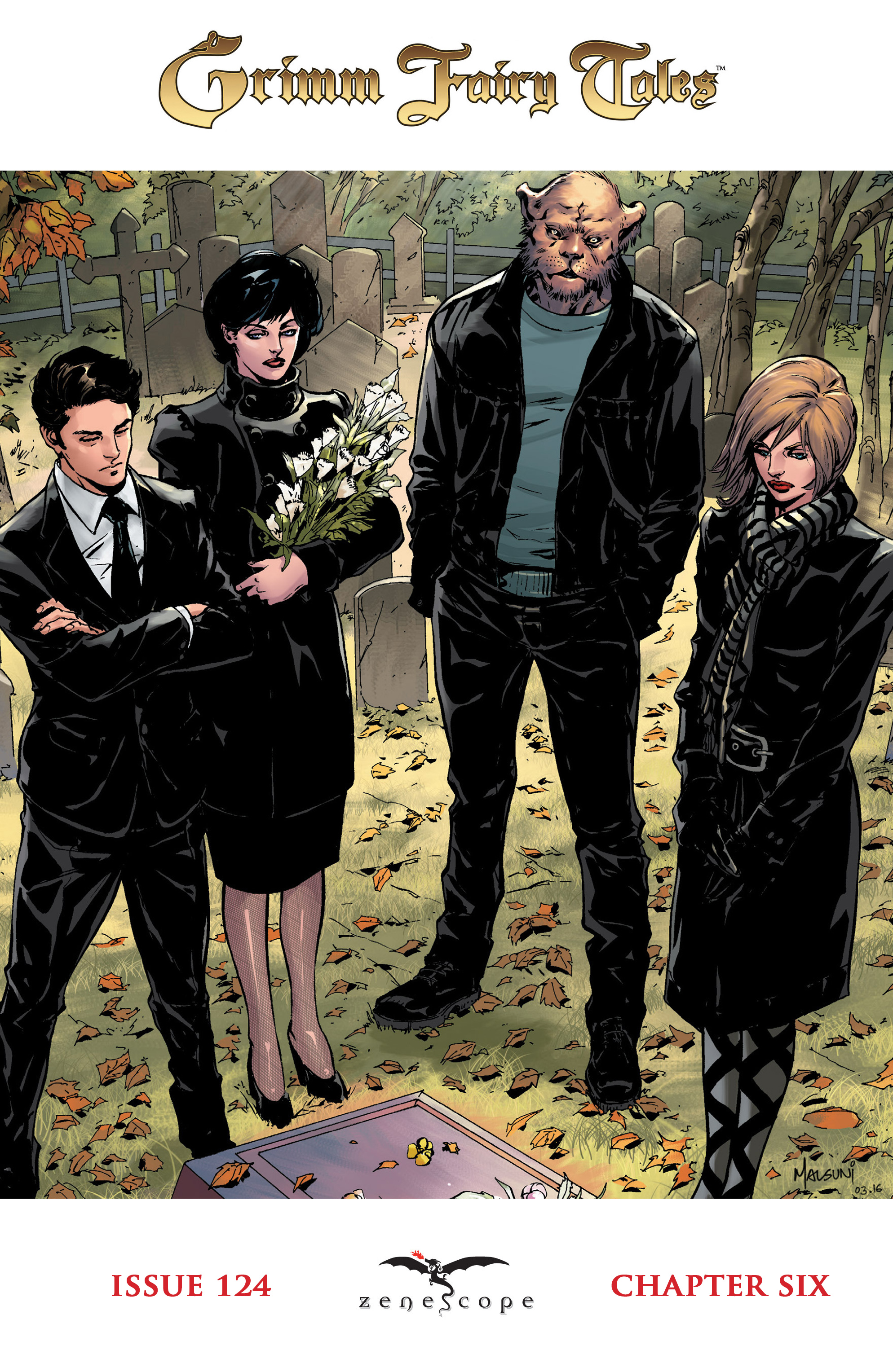 Read online Grimm Fairy Tales: Arcane Acre comic -  Issue # TPB 4 - 119