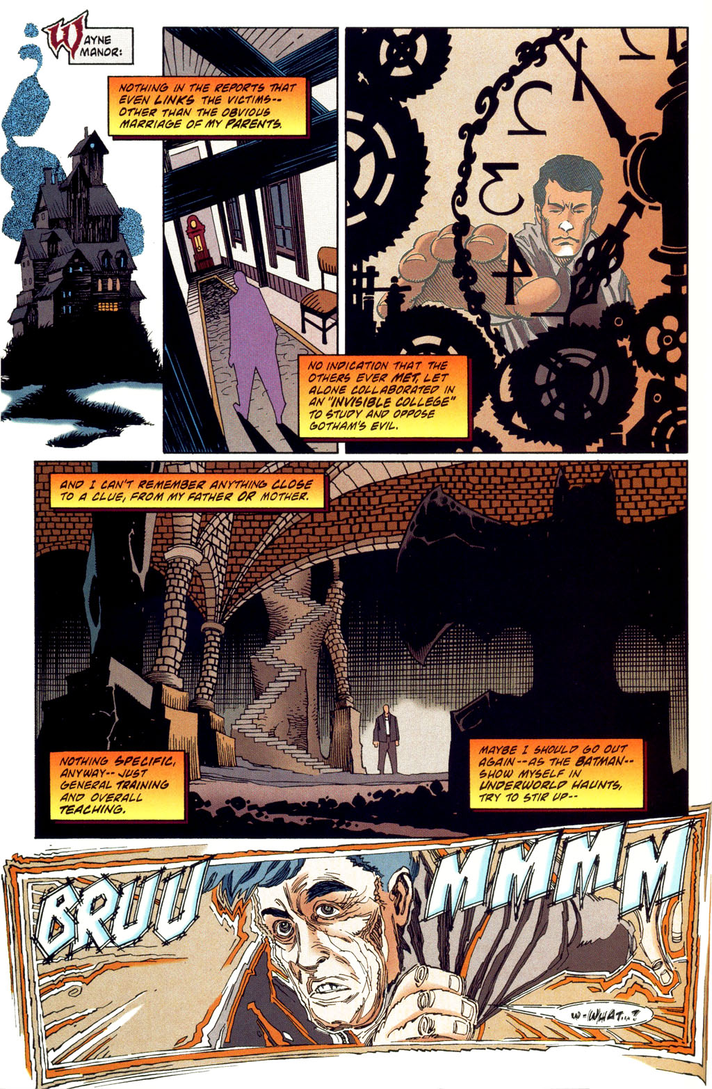 Read online Batman: Haunted Gotham comic -  Issue #2 - 10