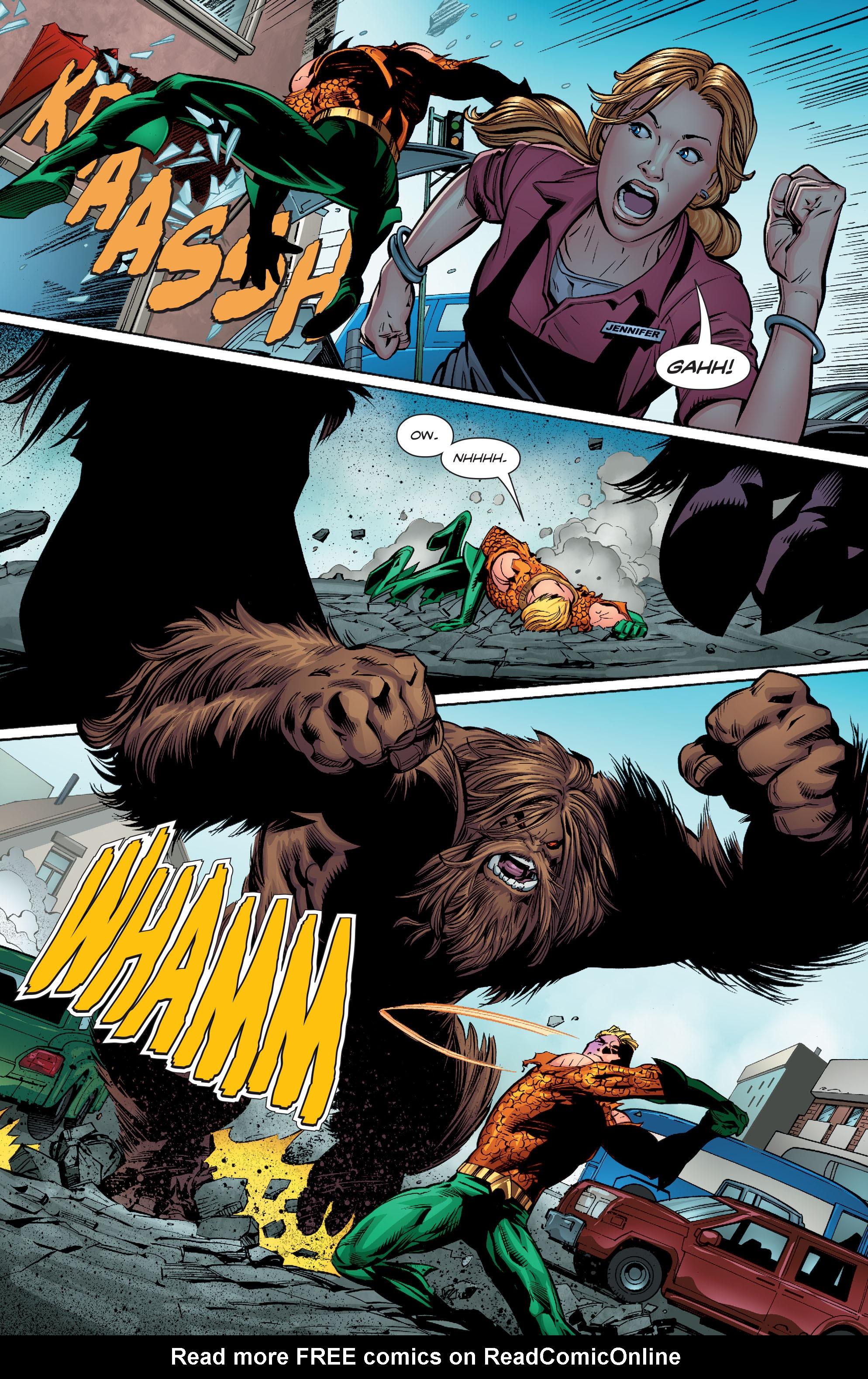 Read online Aquaman (2016) comic -  Issue #9 - 15