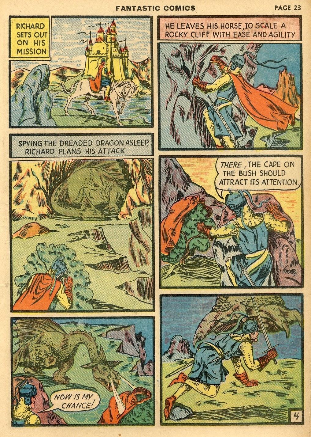 Read online Fantastic Comics comic -  Issue #10 - 24
