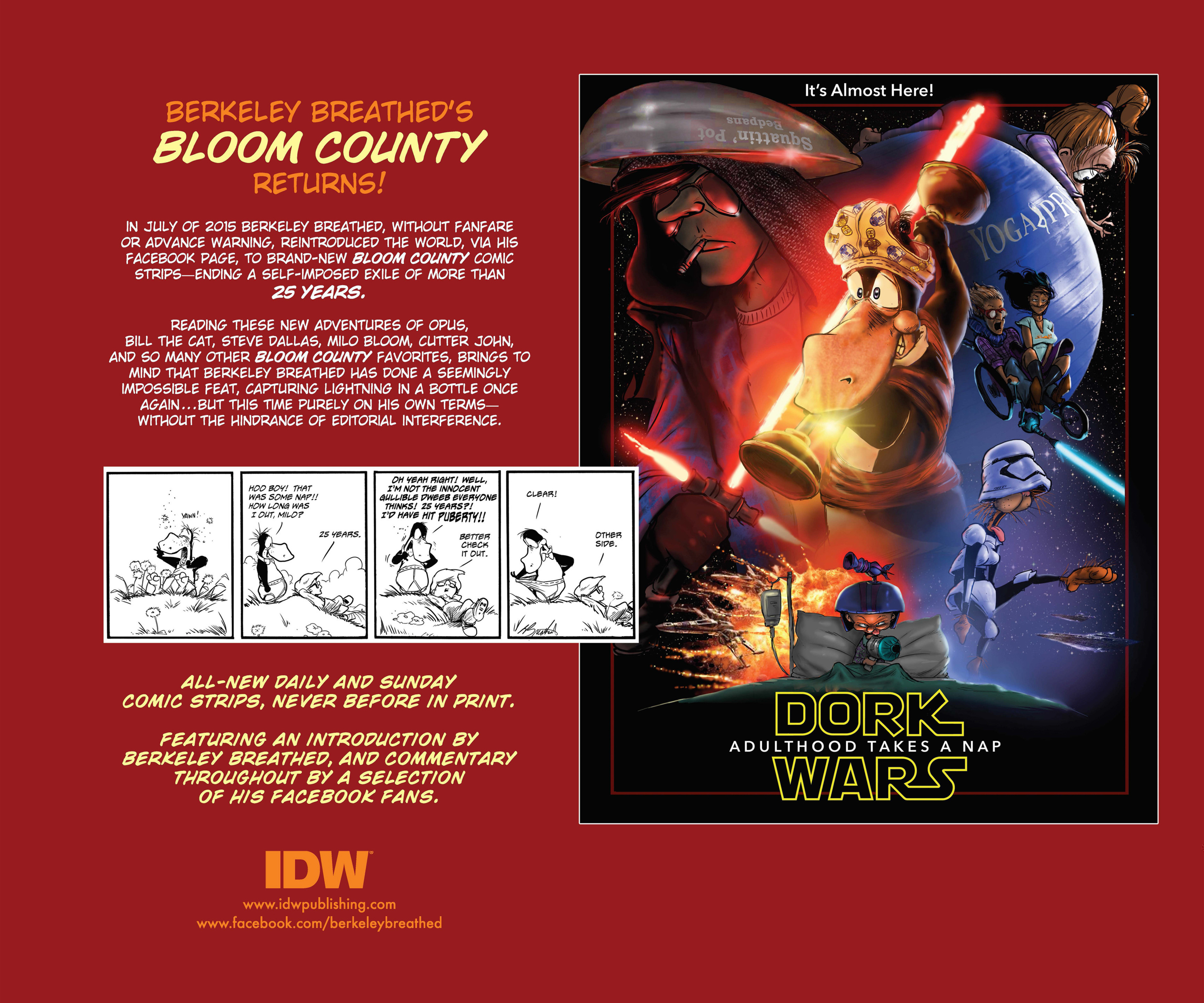 Read online Bloom County Episode XI: A New Hope comic -  Issue # Full - 148