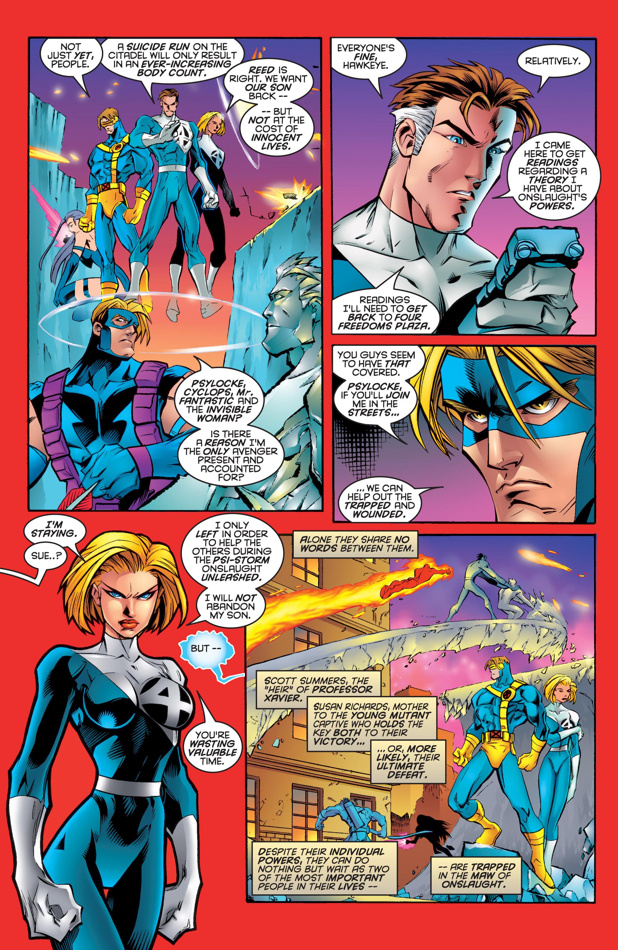 Read online Uncanny X-Men (1963) comic -  Issue #336 - 8