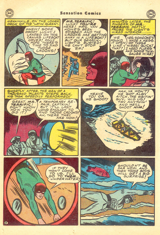 Read online Sensation (Mystery) Comics comic -  Issue #57 - 36