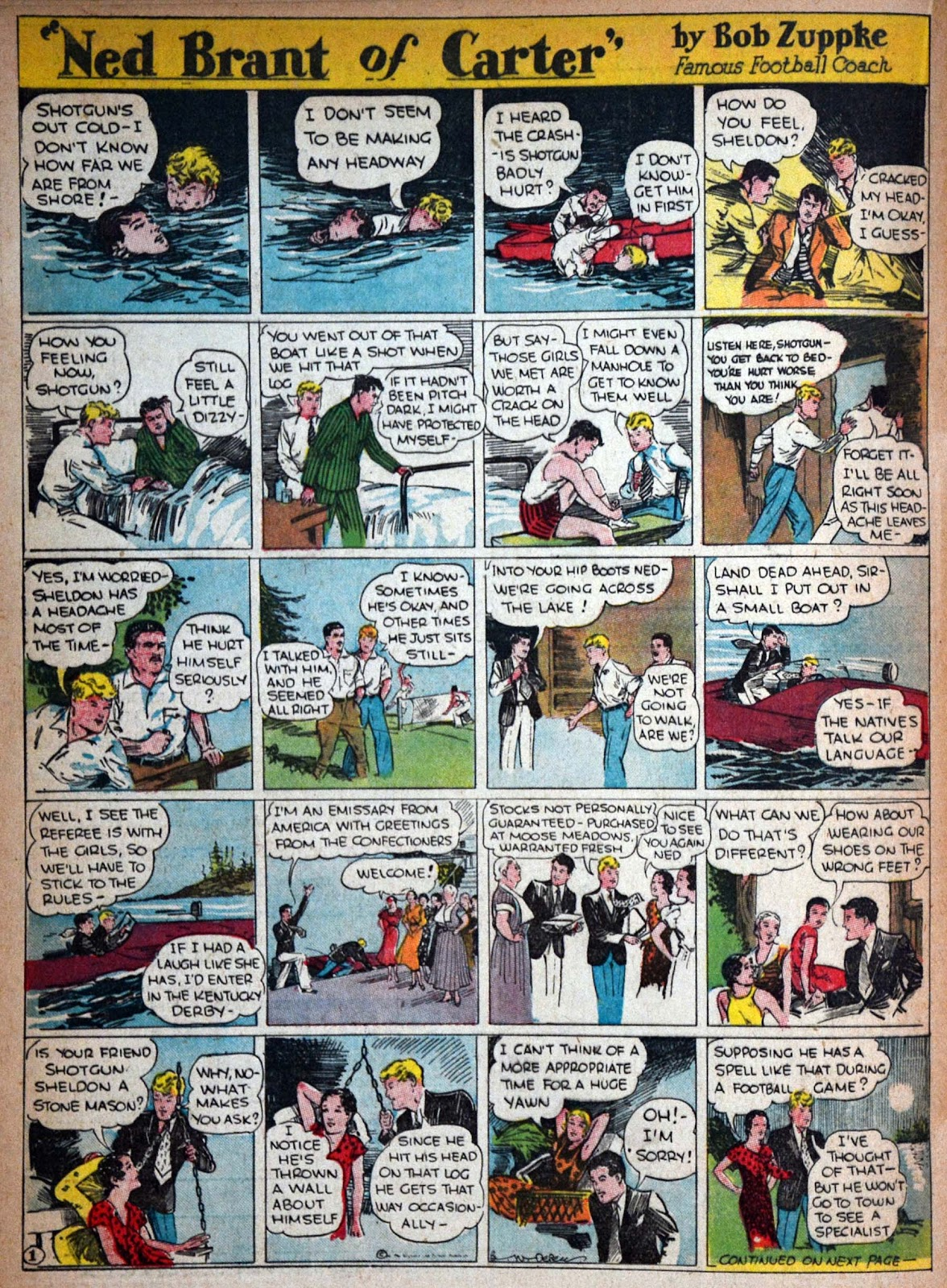 Read online Famous Funnies comic -  Issue #29 - 37