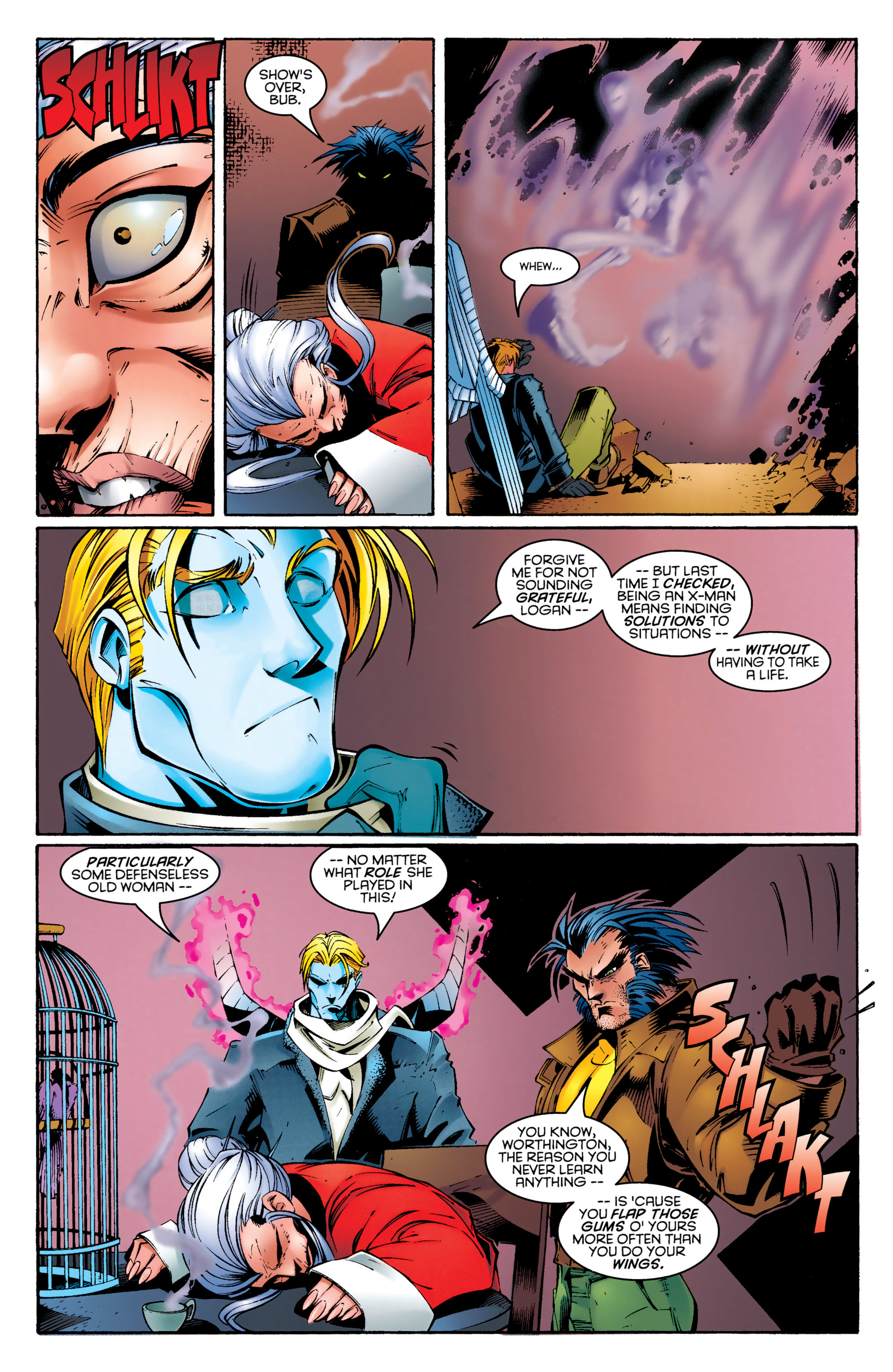 Read online Uncanny X-Men (1963) comic -  Issue #329 - 15