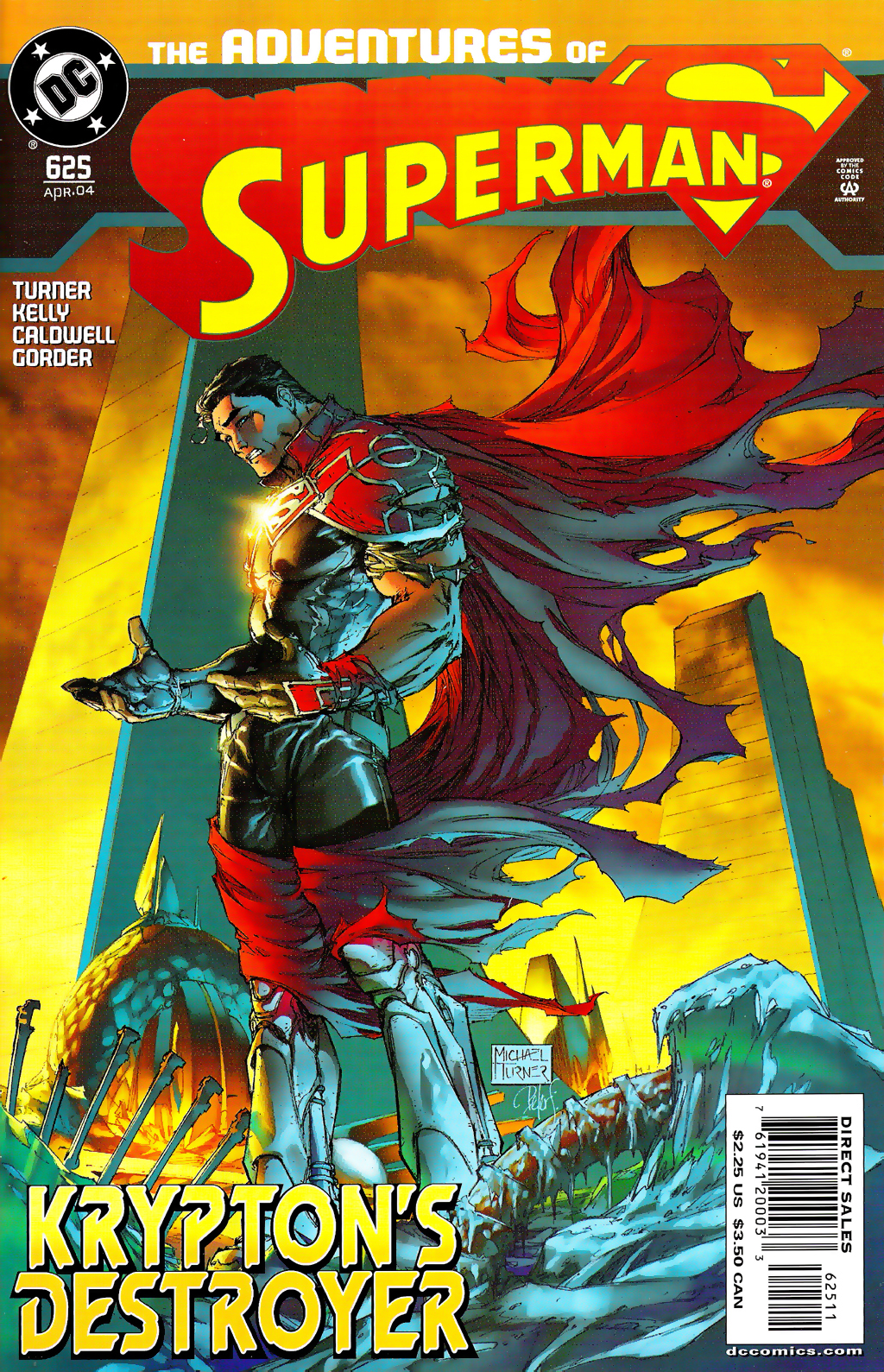 Read online Adventures of Superman (1987) comic -  Issue #625 - 1
