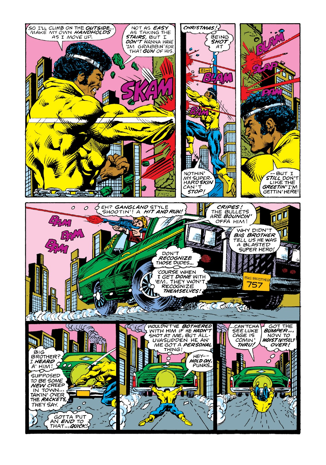 Read online Marvel Masterworks: Luke Cage, Power Man comic -  Issue # TPB 3 (Part 2) - 24