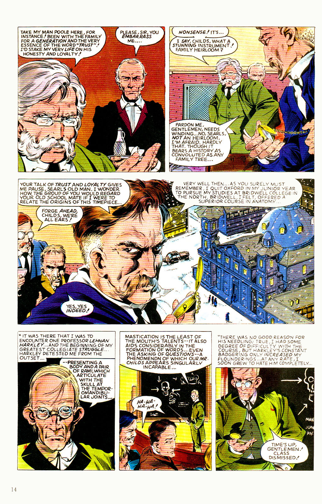 Read online Twisted Tales (1982) comic -  Issue #8 - 16