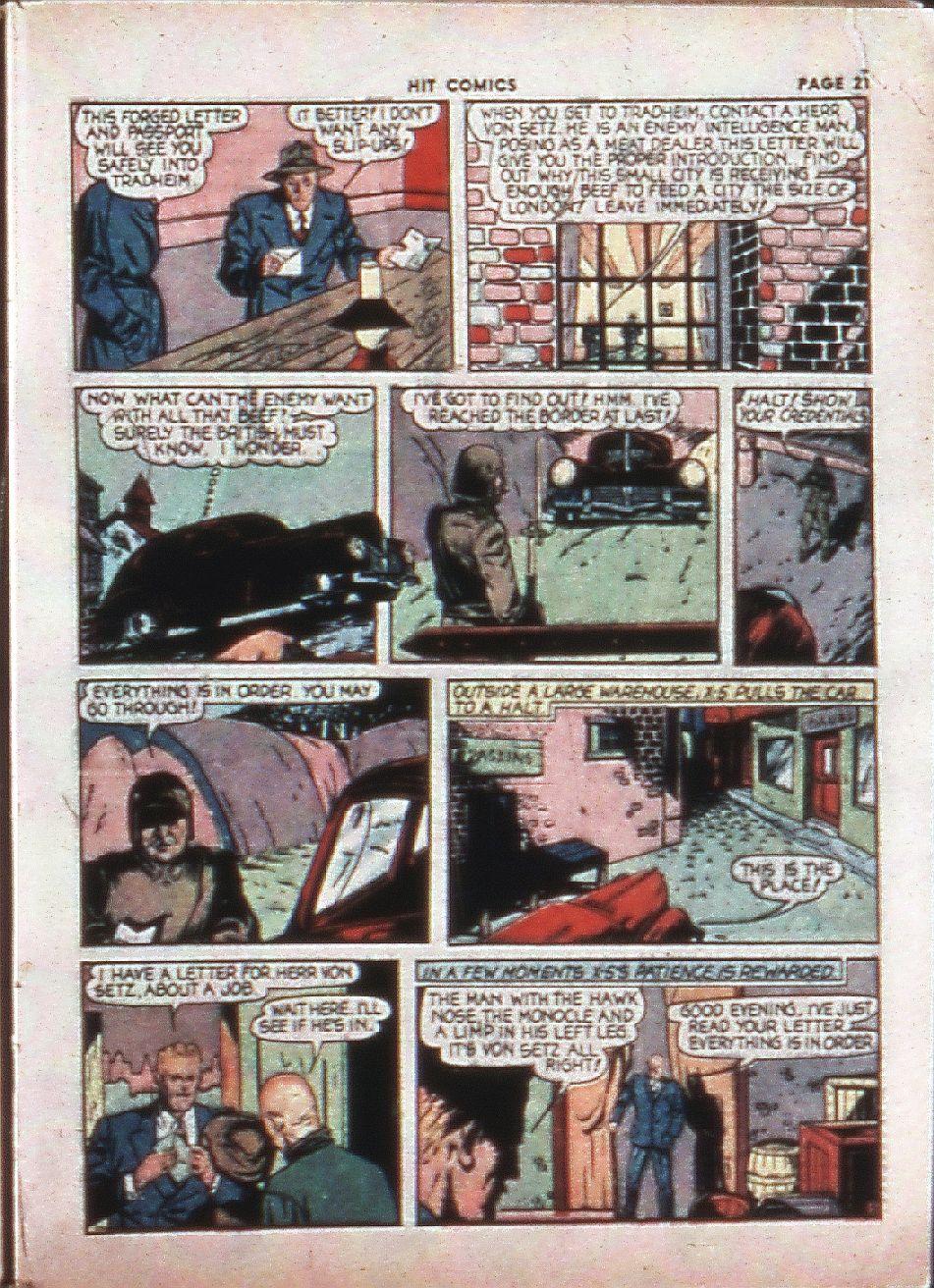 Read online Hit Comics comic -  Issue #4 - 23