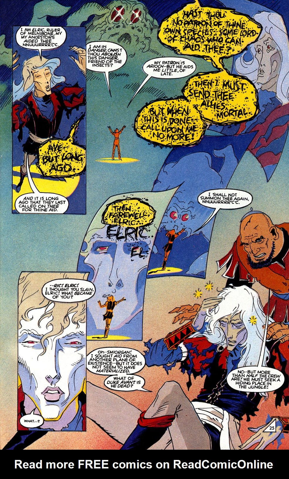 Read online Elric: Sailor on the Seas of Fate comic -  Issue #6 - 28