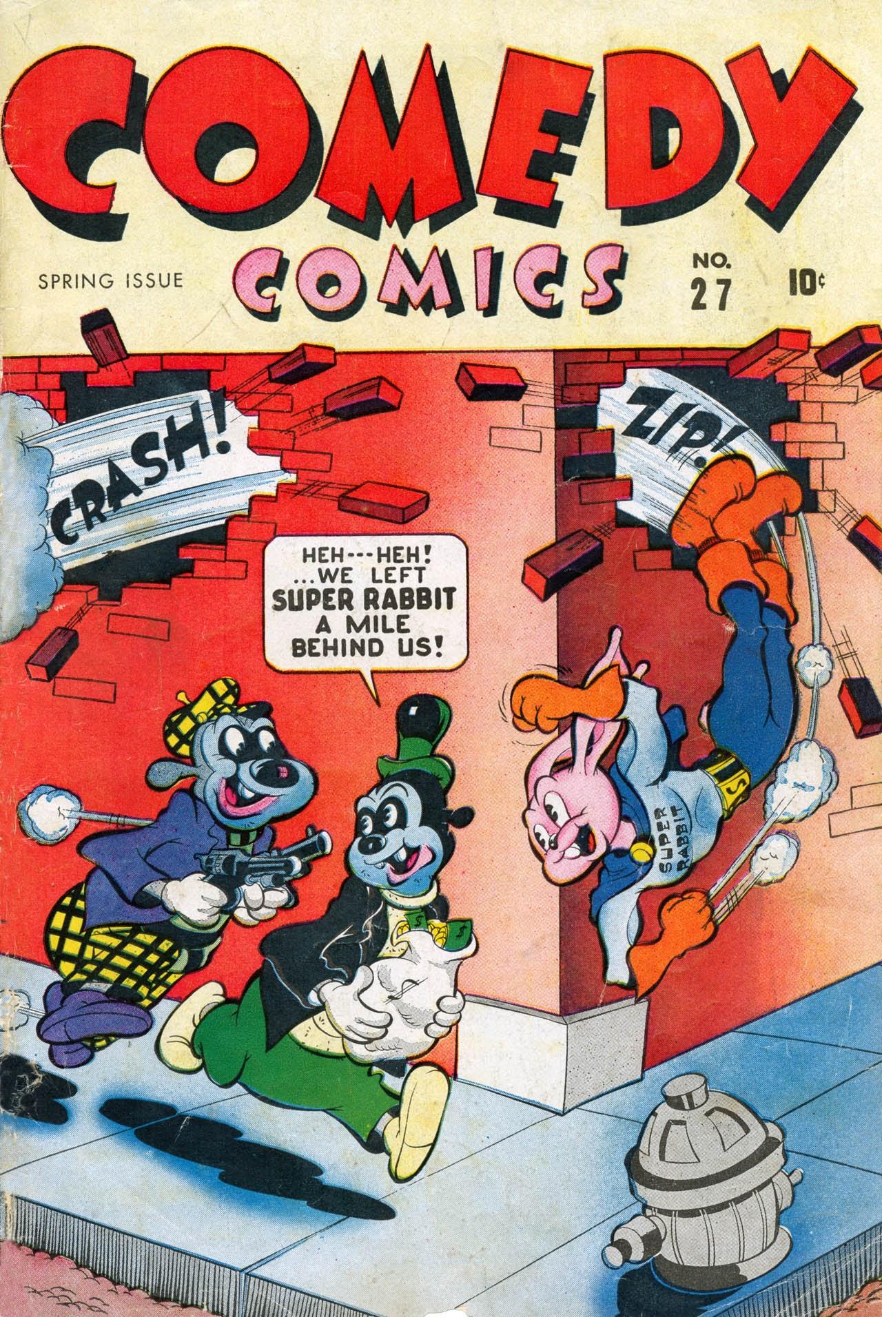 Comedy Comics (1942) 27 Page 1
