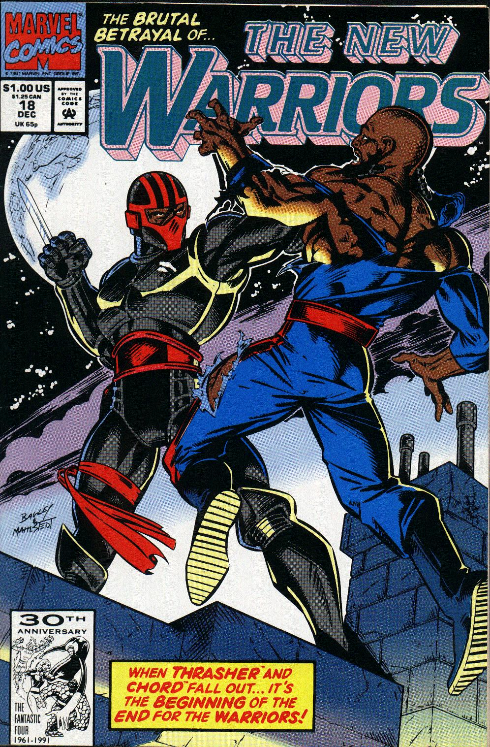 The New Warriors Issue #18 #22 - English 1