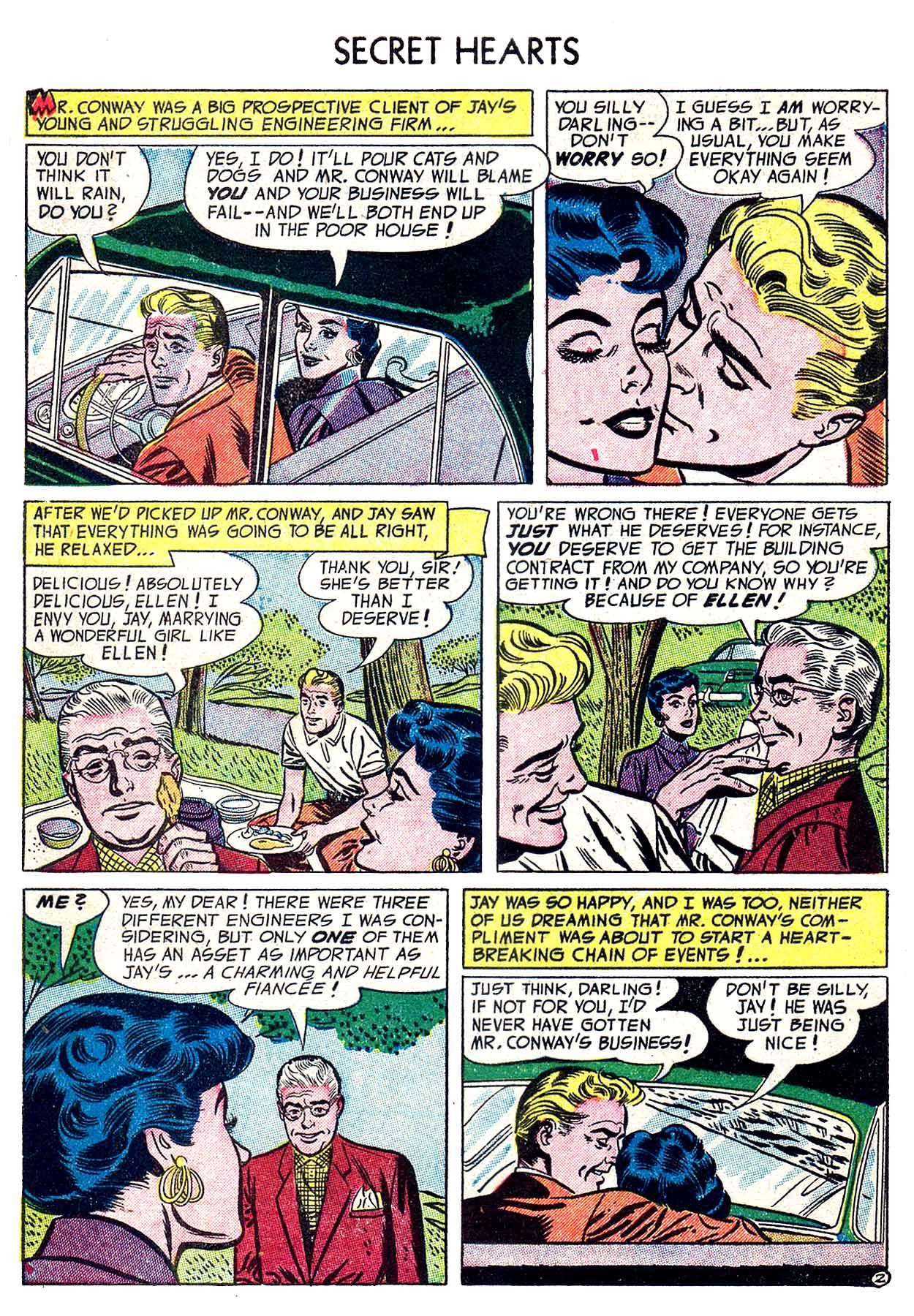 Read online Secret Hearts comic -  Issue #19 - 4