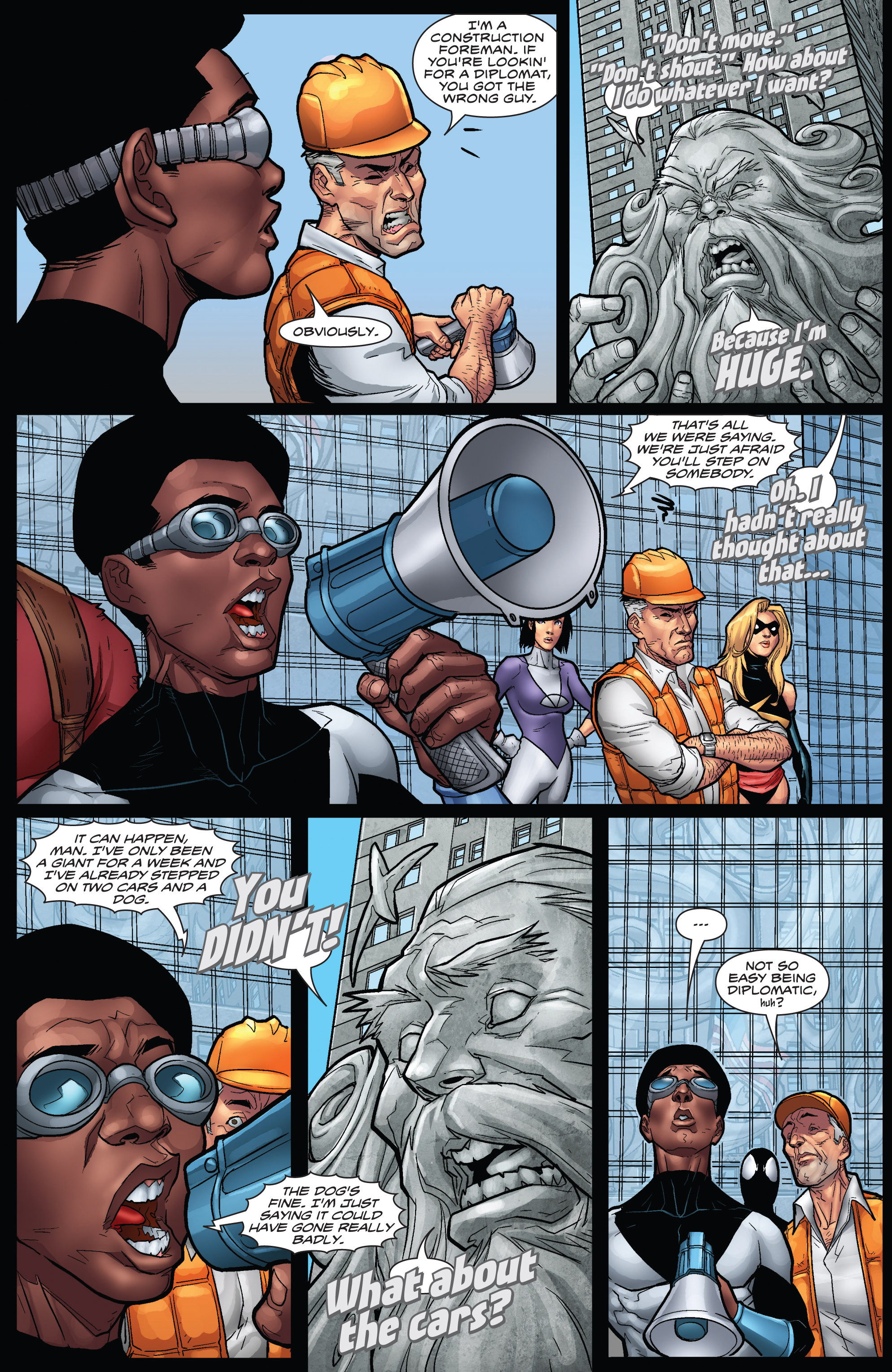 Read online WWH Aftersmash: Damage Control comic -  Issue #3 - 7