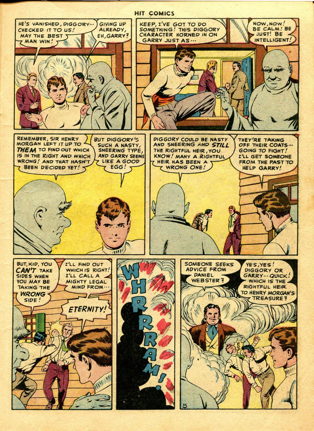 Read online Hit Comics comic -  Issue #48 - 7